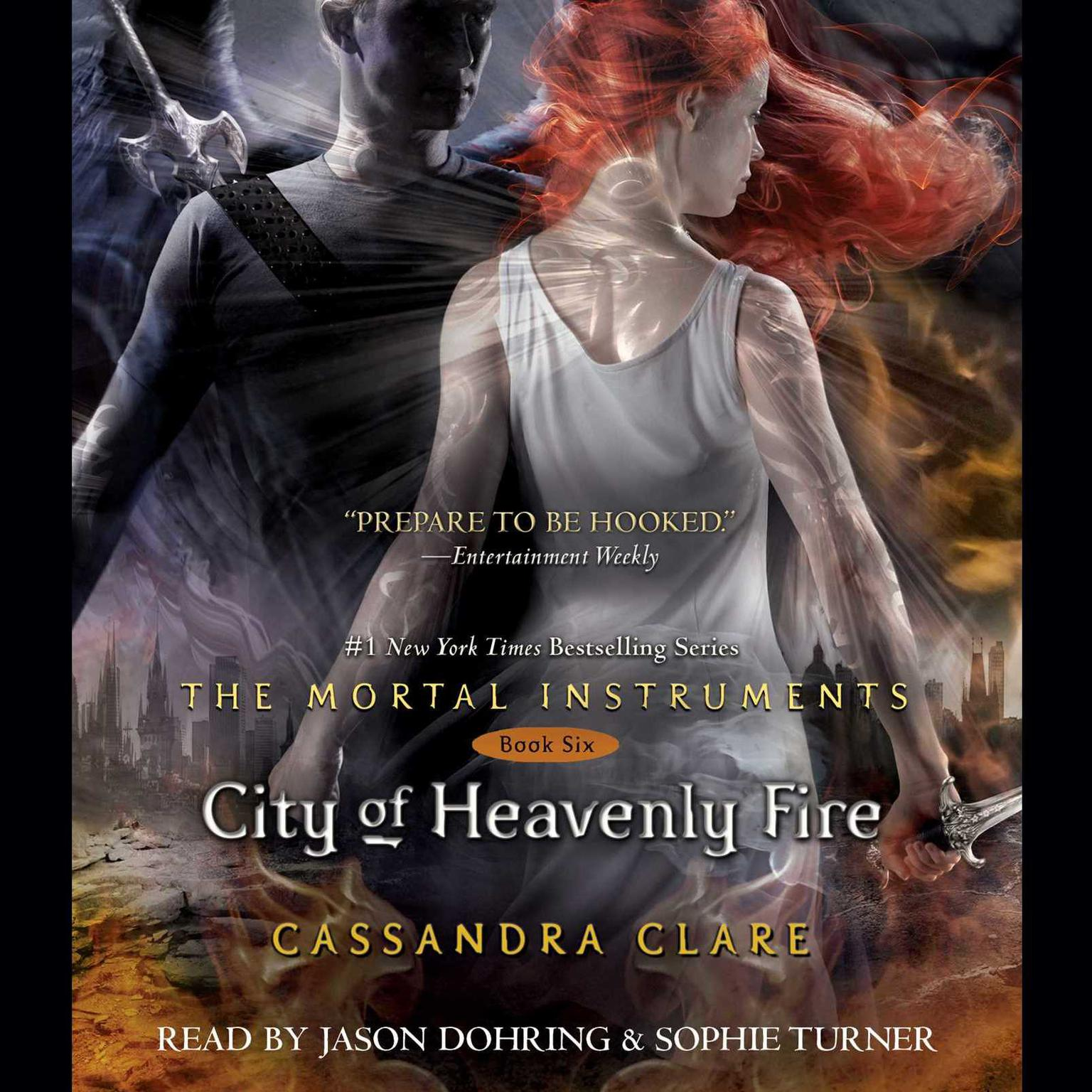 Printable City of Heavenly Fire Audiobook Cover Art