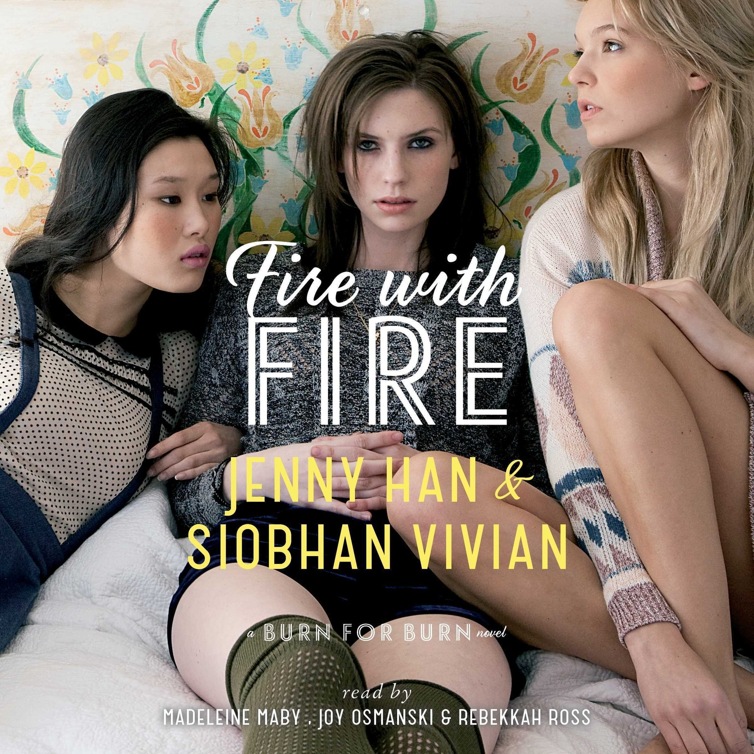 Printable Fire with Fire Audiobook Cover Art
