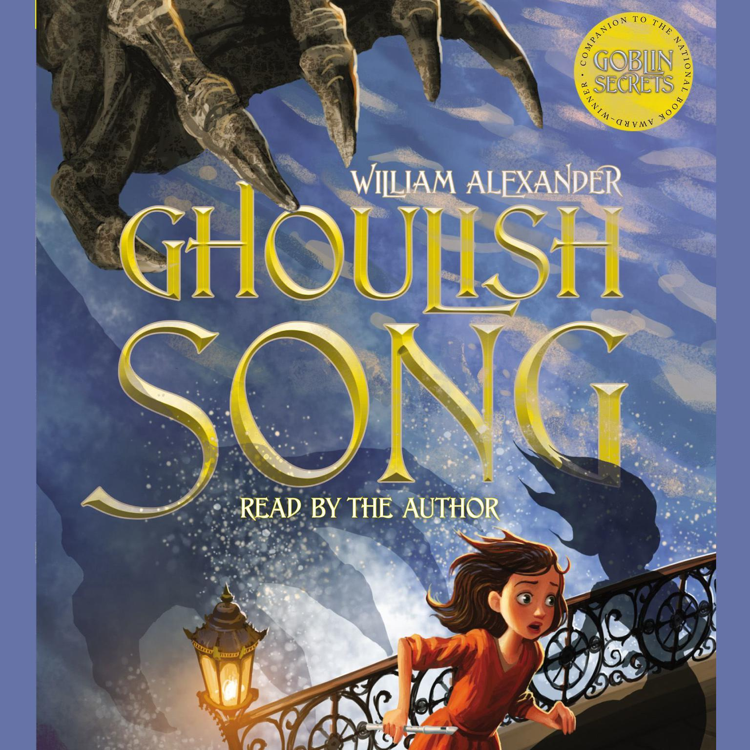 Printable Ghoulish Song Audiobook Cover Art
