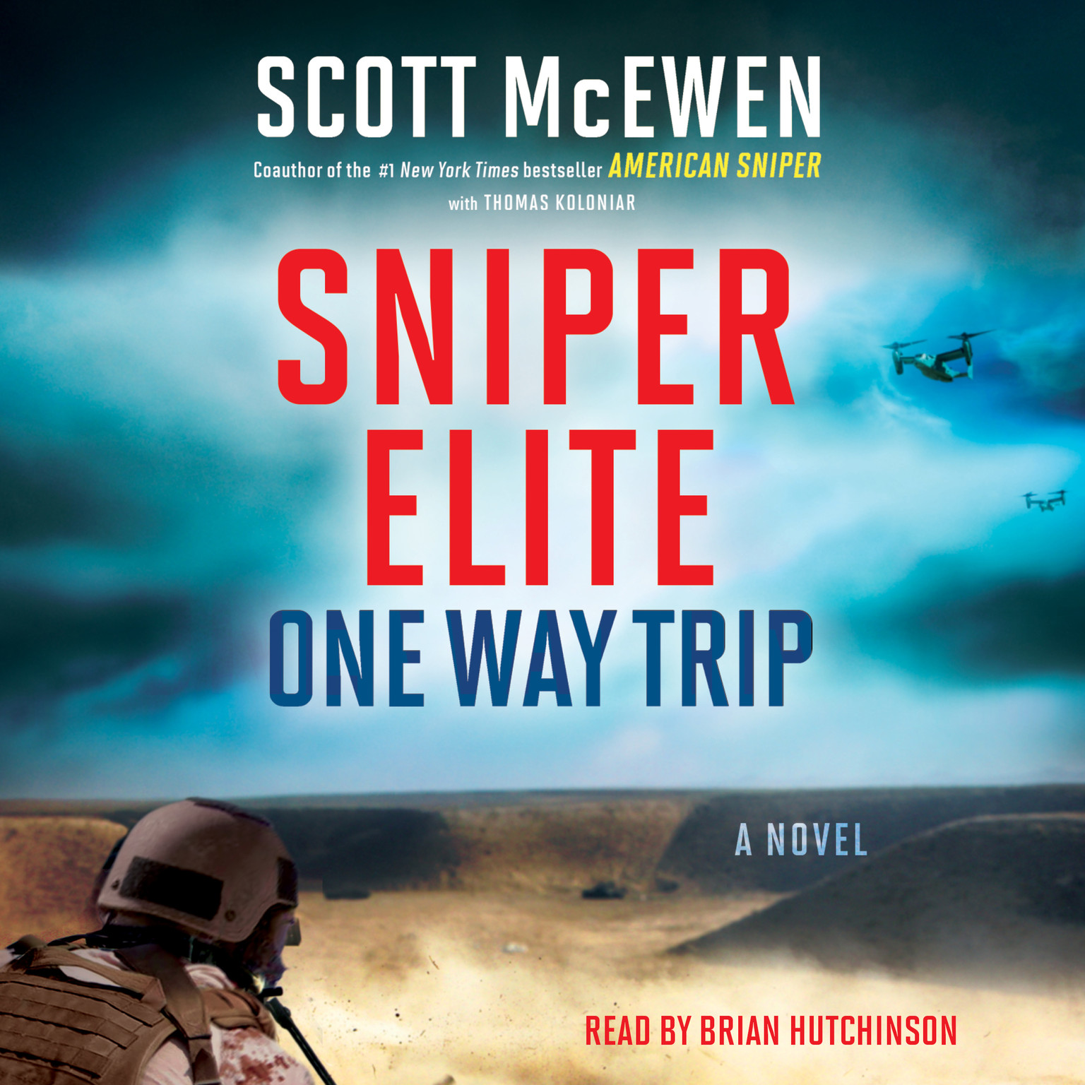 Printable Sniper Elite: One-Way Trip: A Novel Audiobook Cover Art