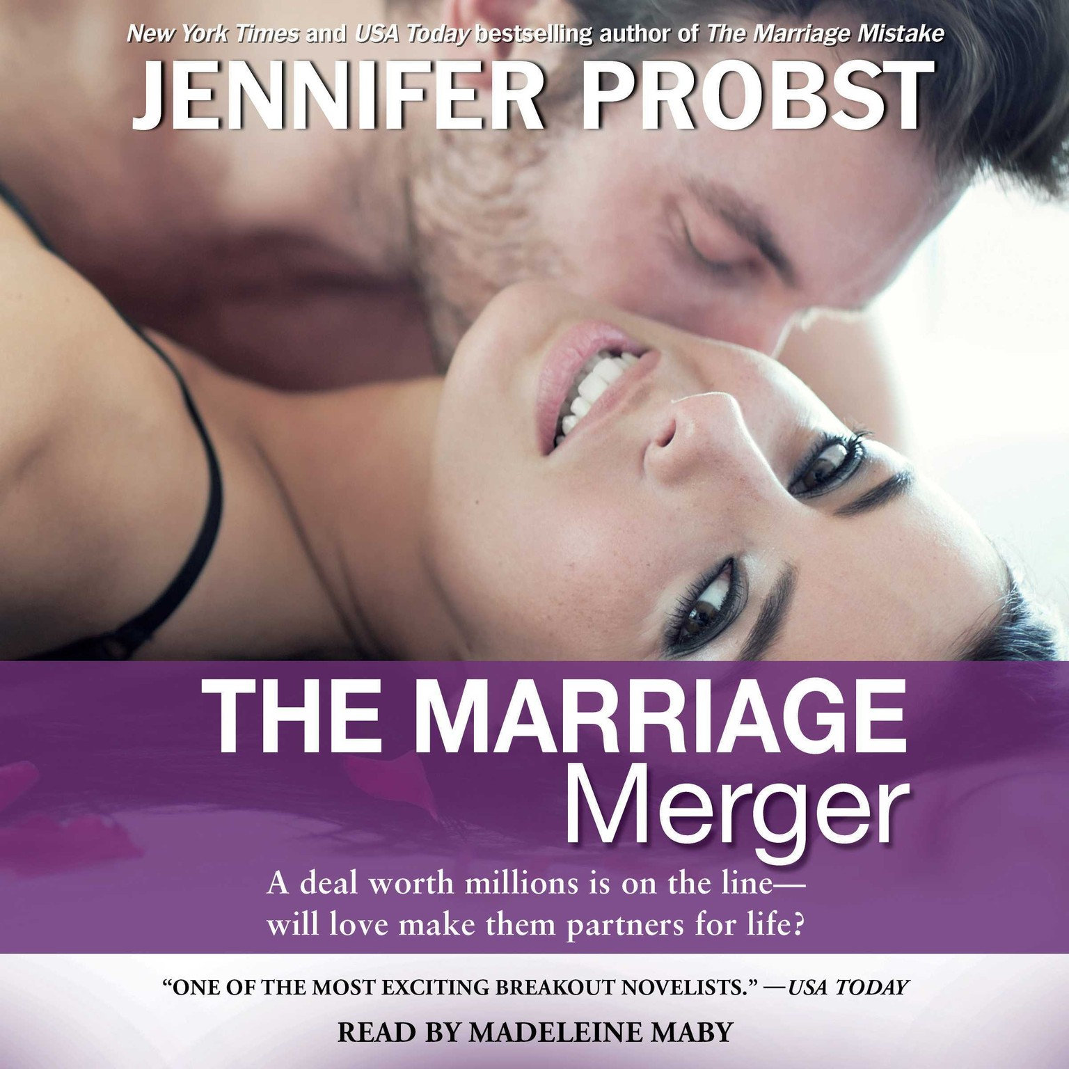 Printable The Marriage Merger Audiobook Cover Art