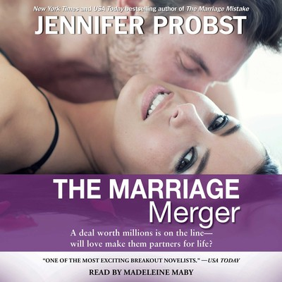 The Marriage Merger Audiobook, by Jennifer Probst