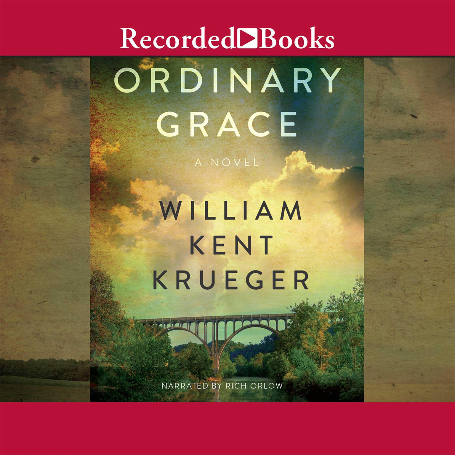 Printable Ordinary Grace Audiobook Cover Art
