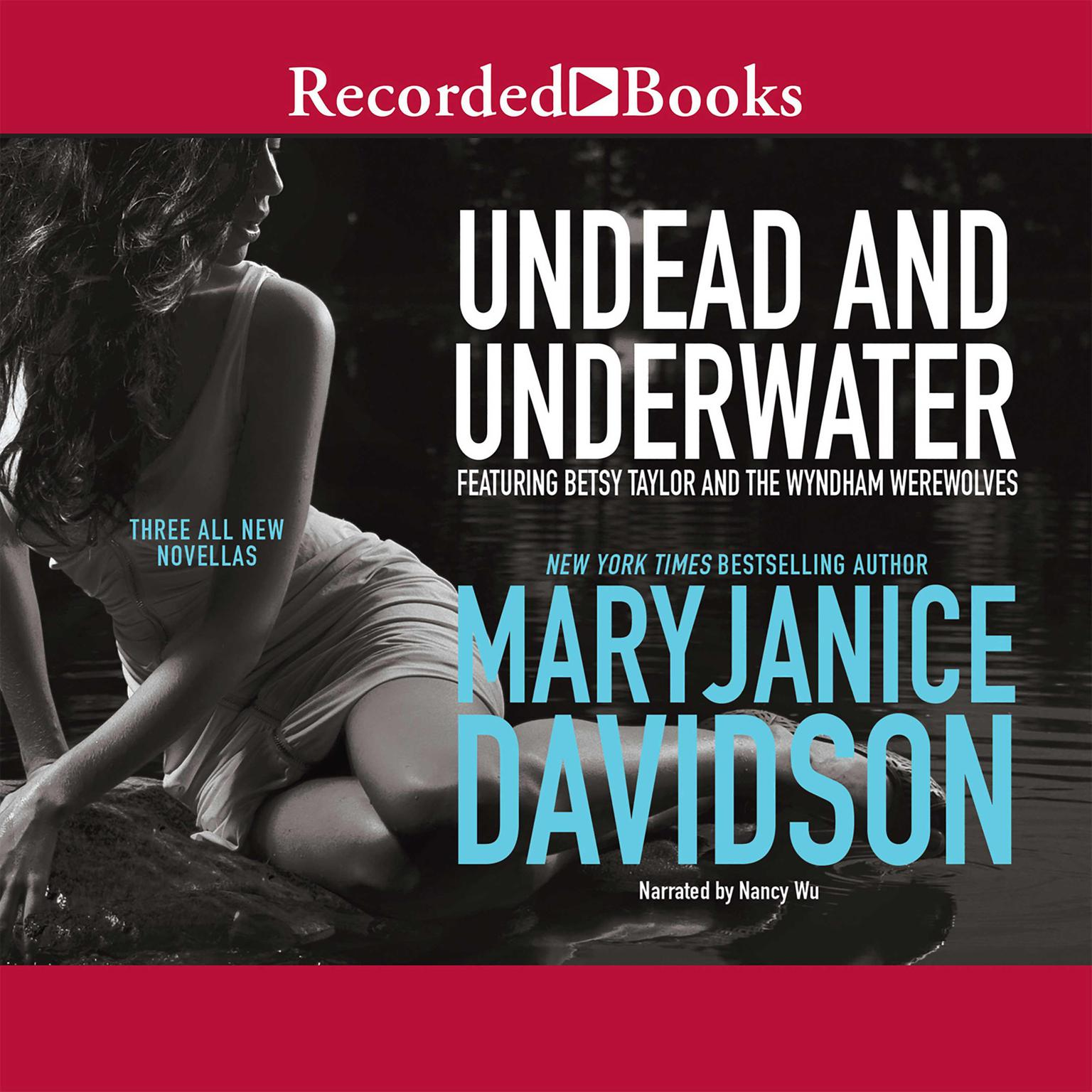 Printable Undead and Underwater Audiobook Cover Art