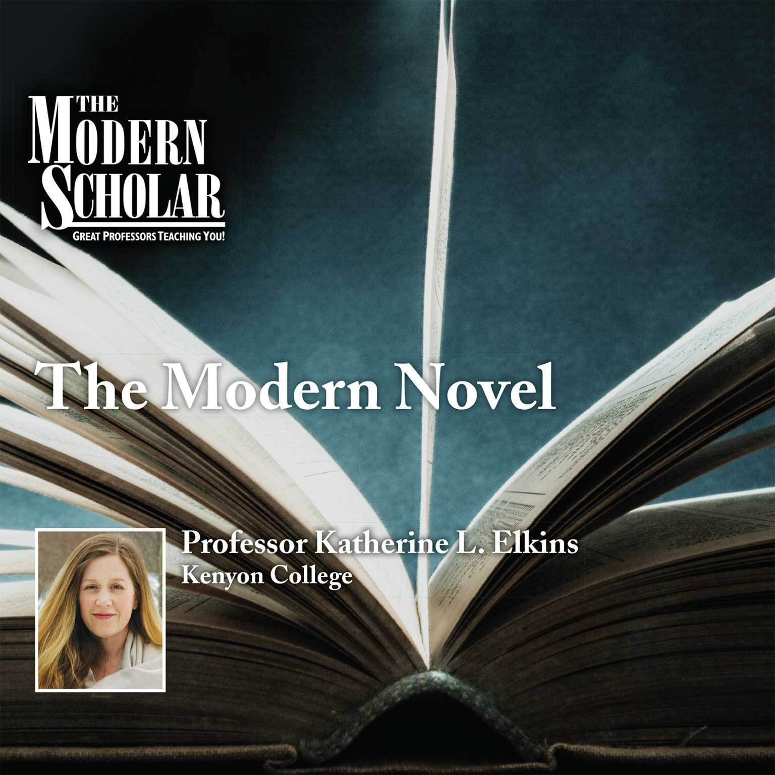 Printable The Modern Novel Audiobook Cover Art