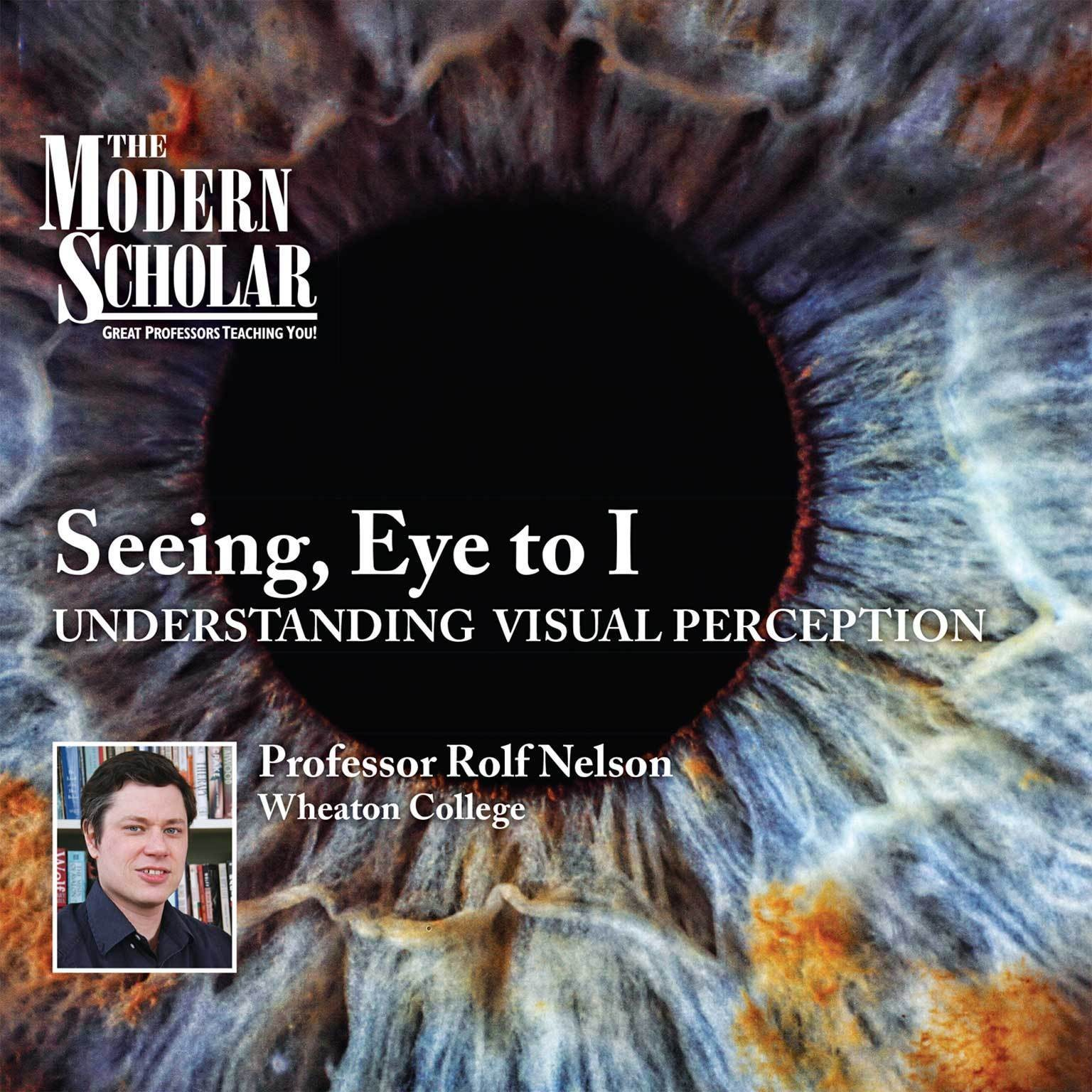 Printable Seeing, Eye to I: Understanding Visual Perception Audiobook Cover Art