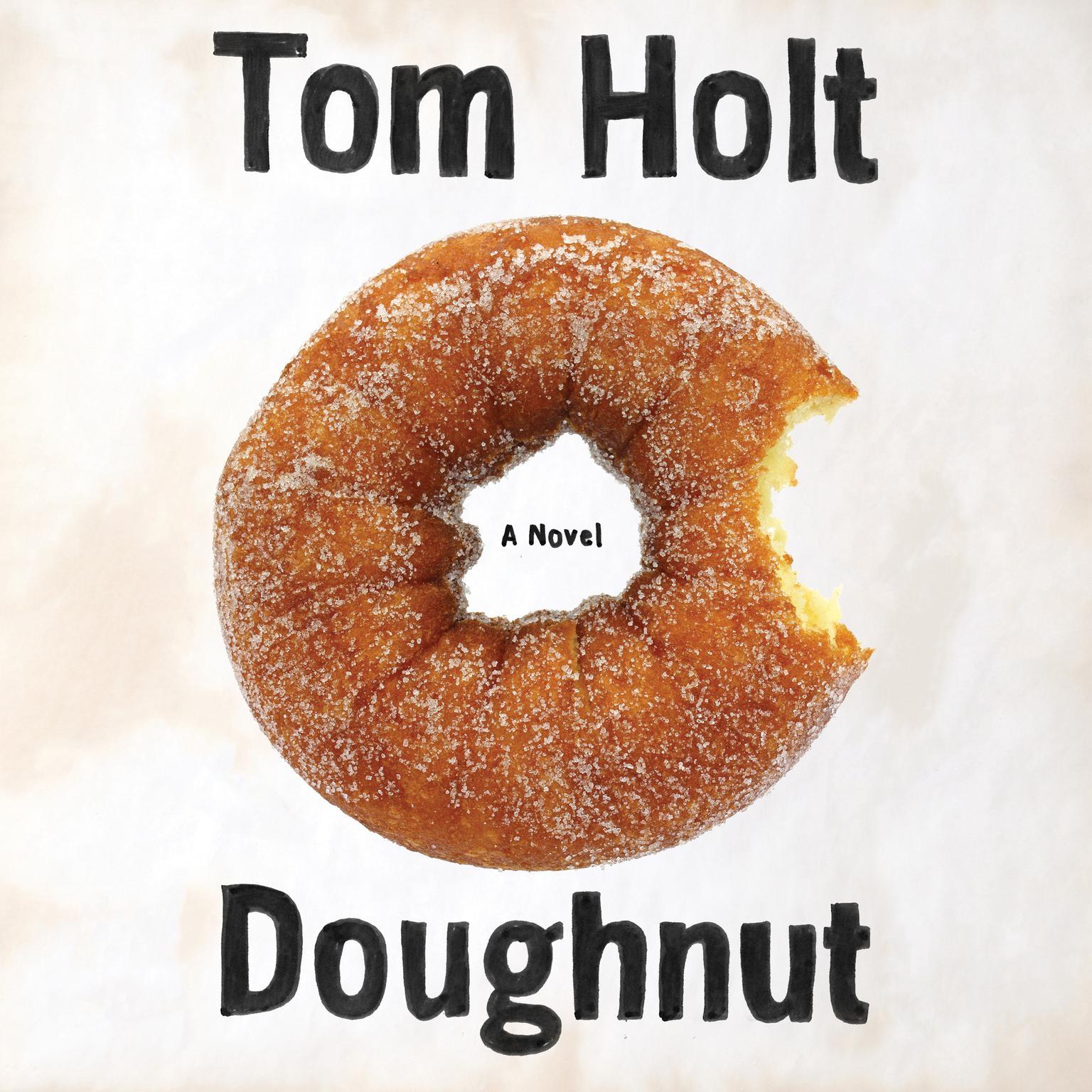 Printable Doughnut Audiobook Cover Art