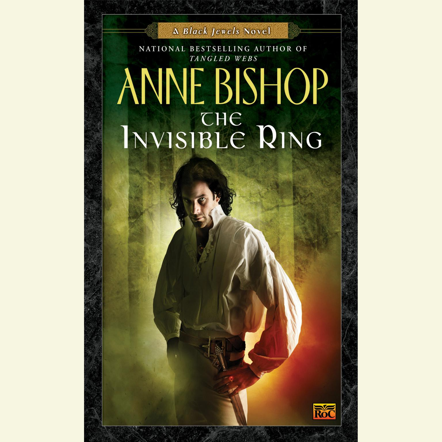 Printable The Invisible Ring: A Black Jewels Novel Audiobook Cover Art