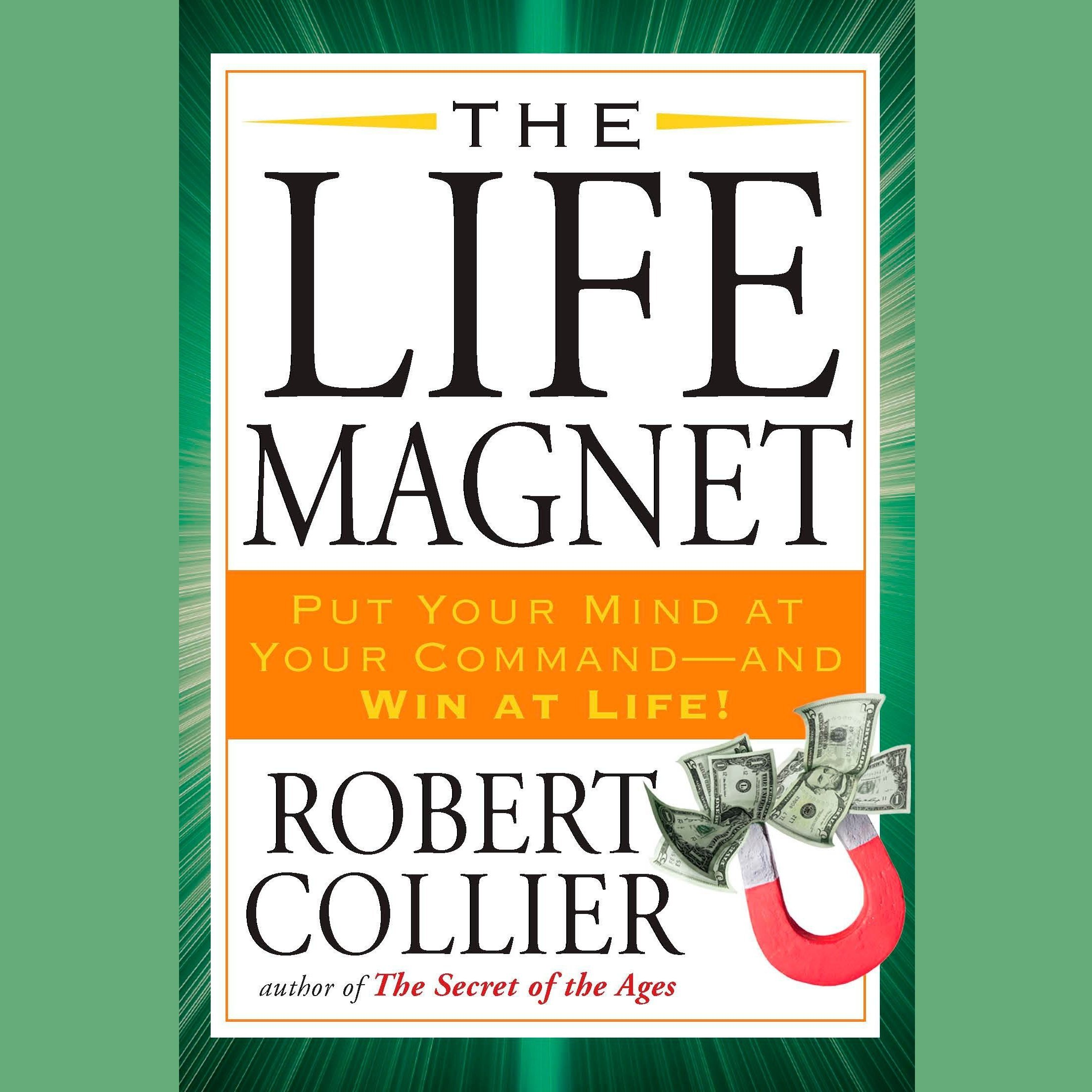 Printable The Life Magnet Audiobook Cover Art