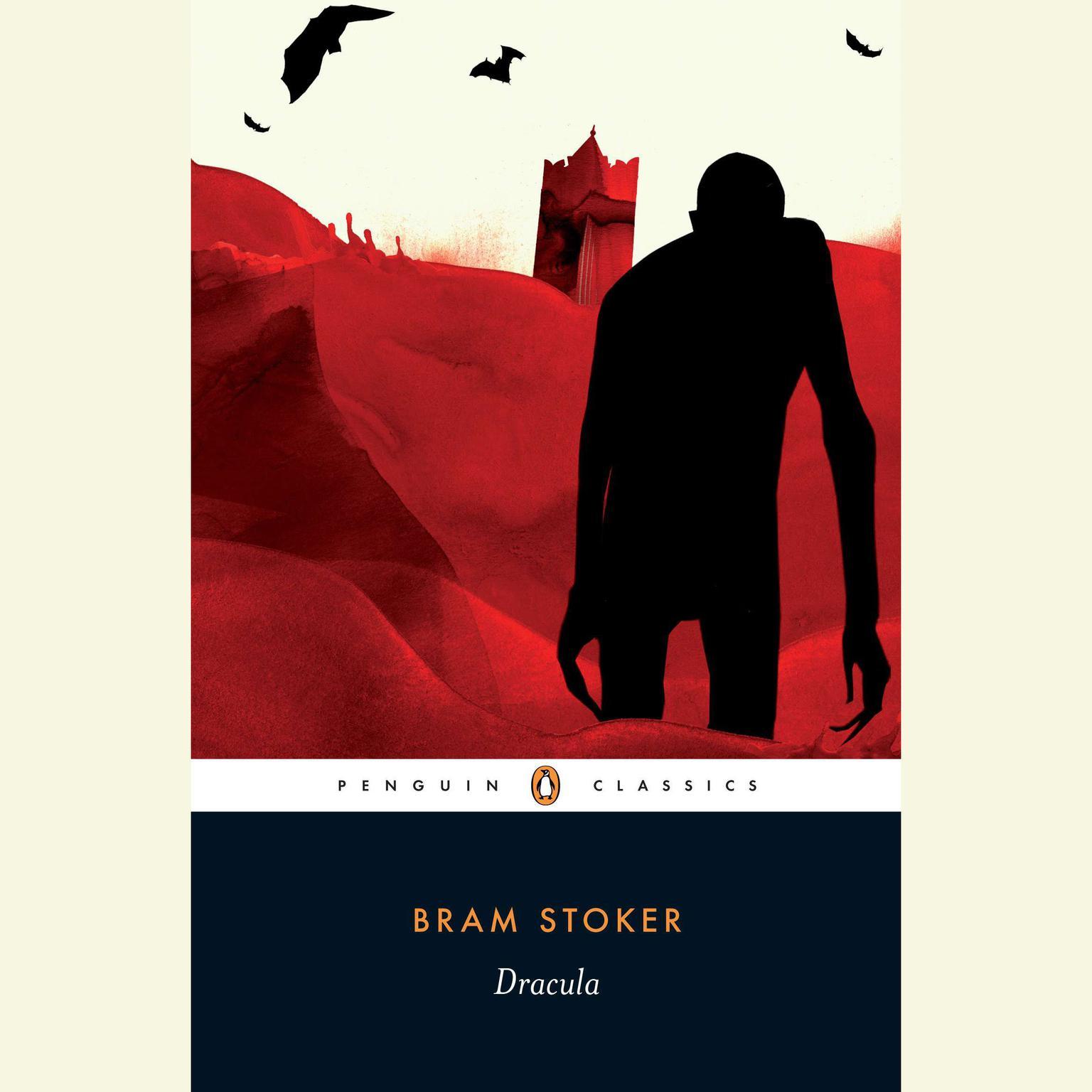 Printable Dracula Audiobook Cover Art