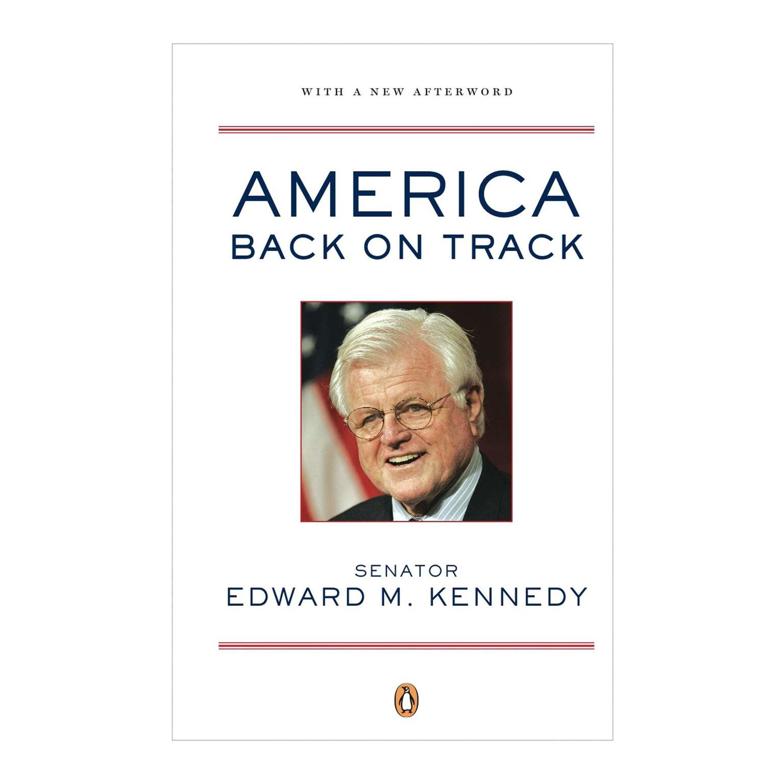 Printable America Back on Track Audiobook Cover Art