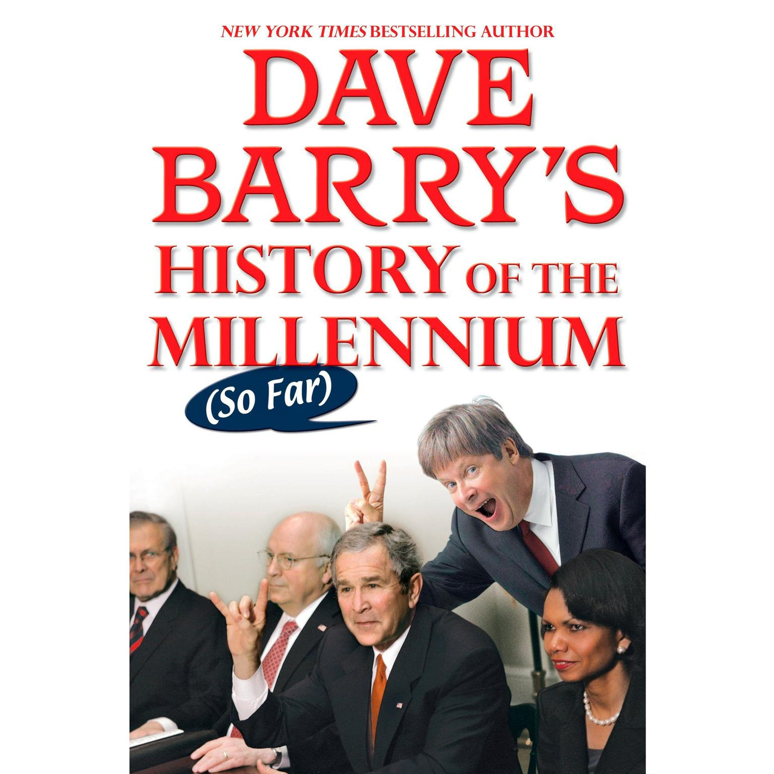Printable Dave Barry's History of the Millennium (So Far) Audiobook Cover Art