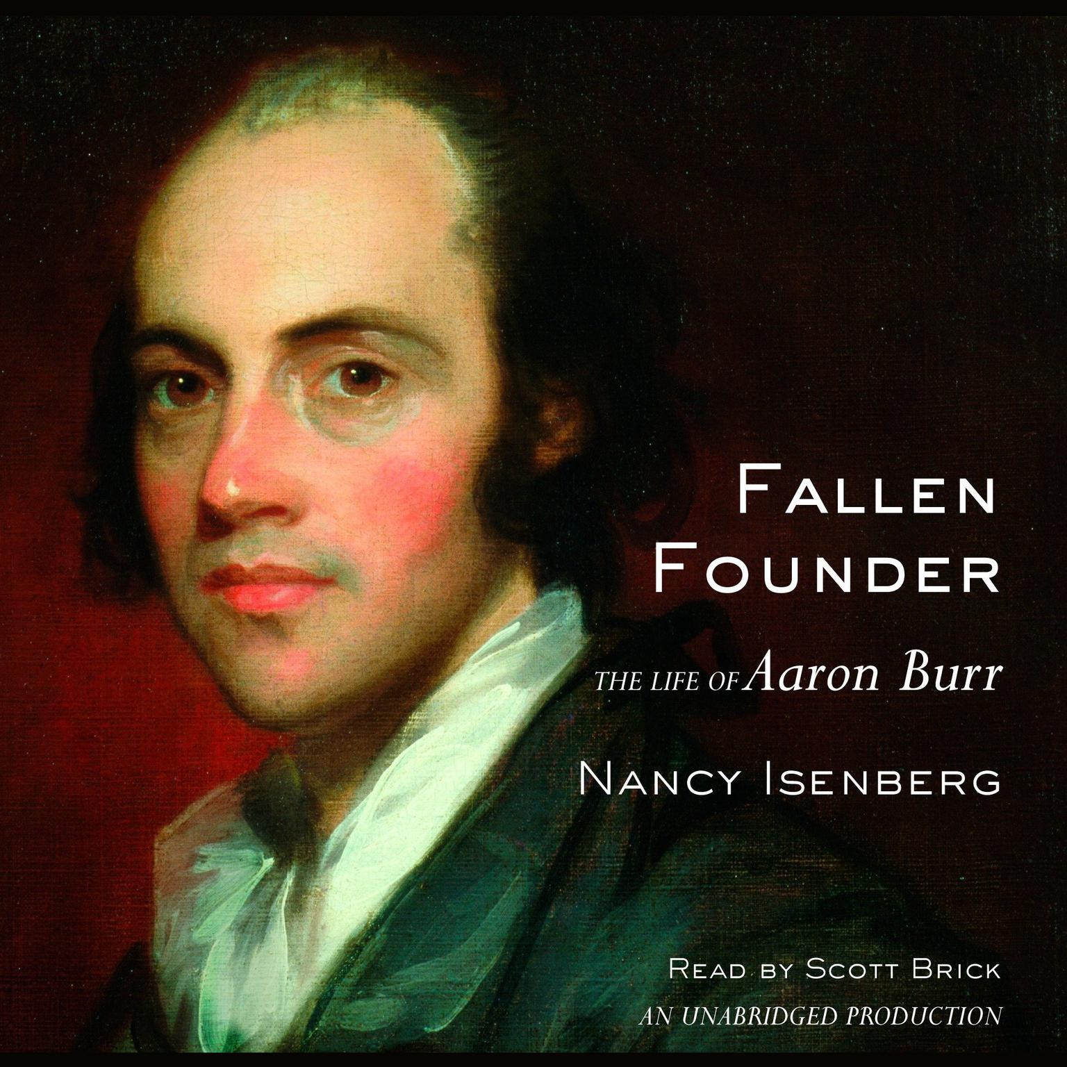 Printable Fallen Founder: The Life of Aaron Burr Audiobook Cover Art