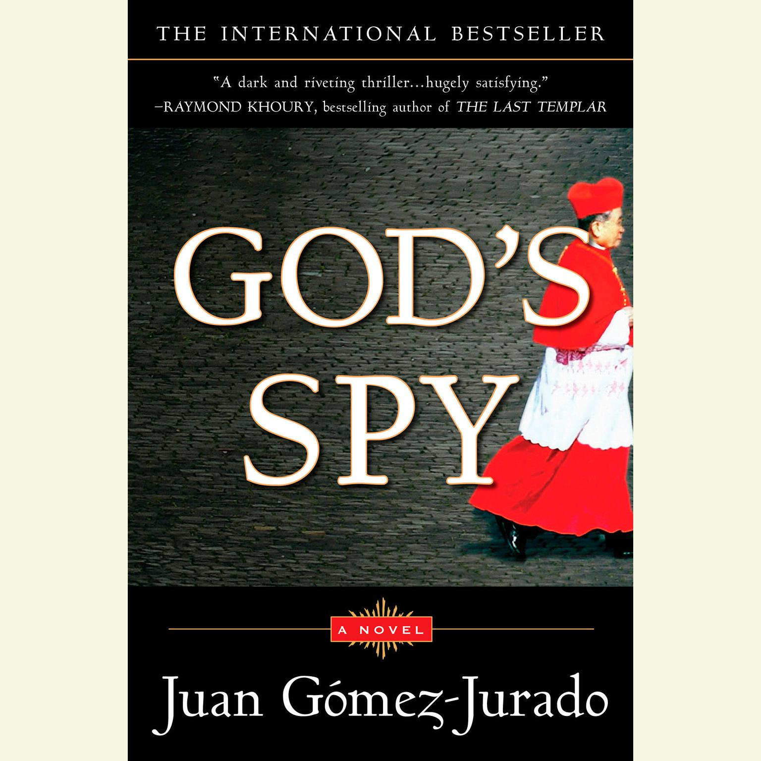 Printable God's Spy Audiobook Cover Art