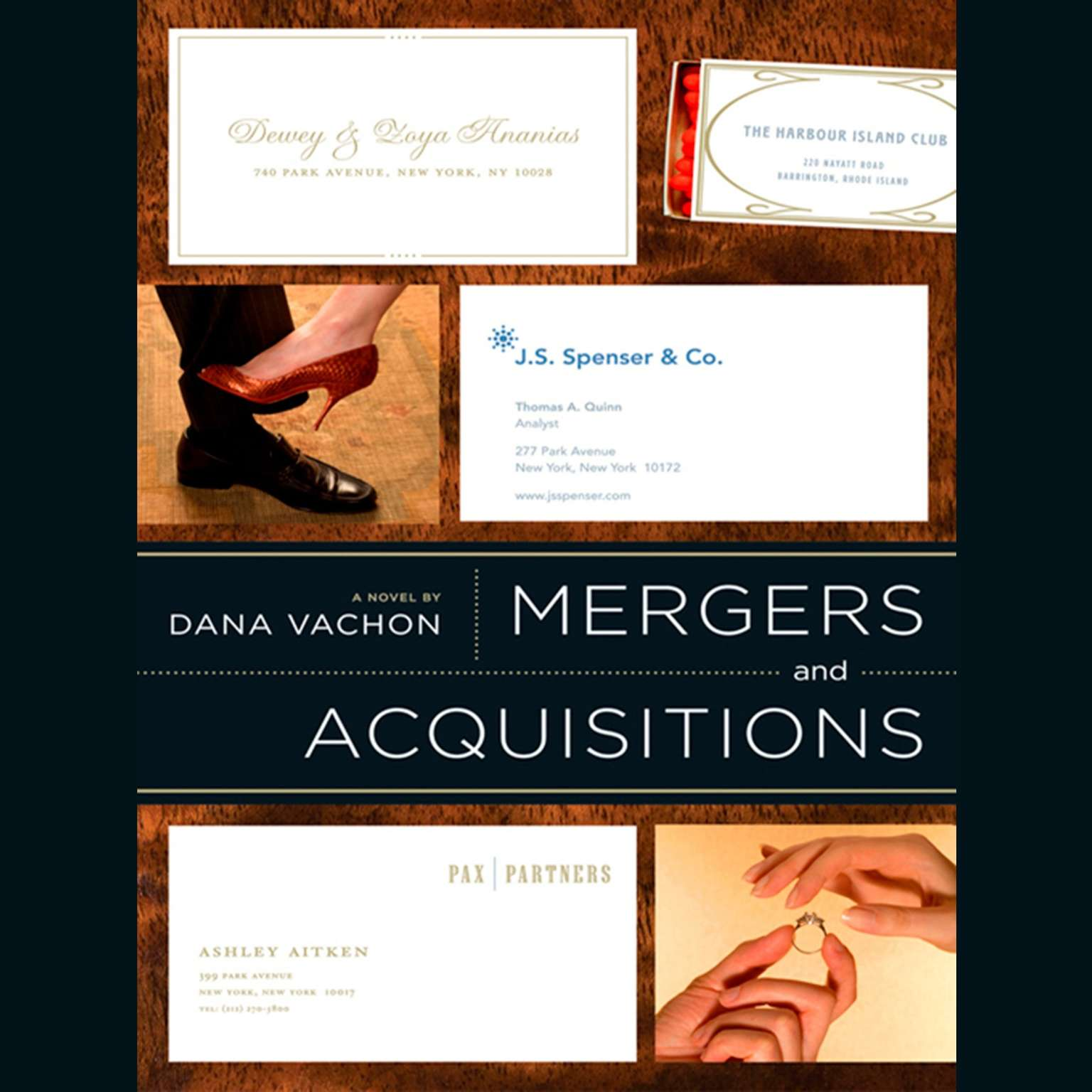 Printable Mergers and Acquisitions Audiobook Cover Art