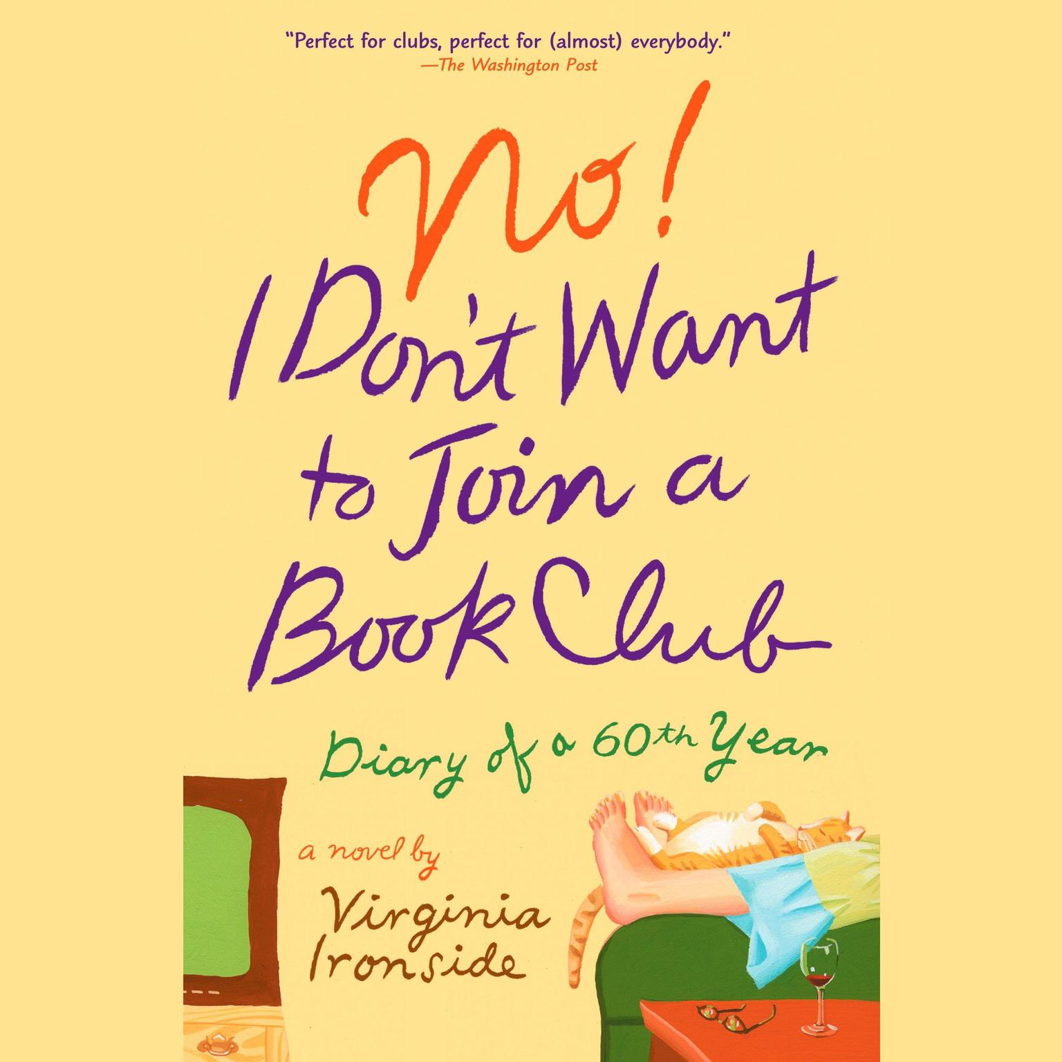 Printable No! I Don't Want to Join a Book Club: Diary of a Sixtieth Year Audiobook Cover Art