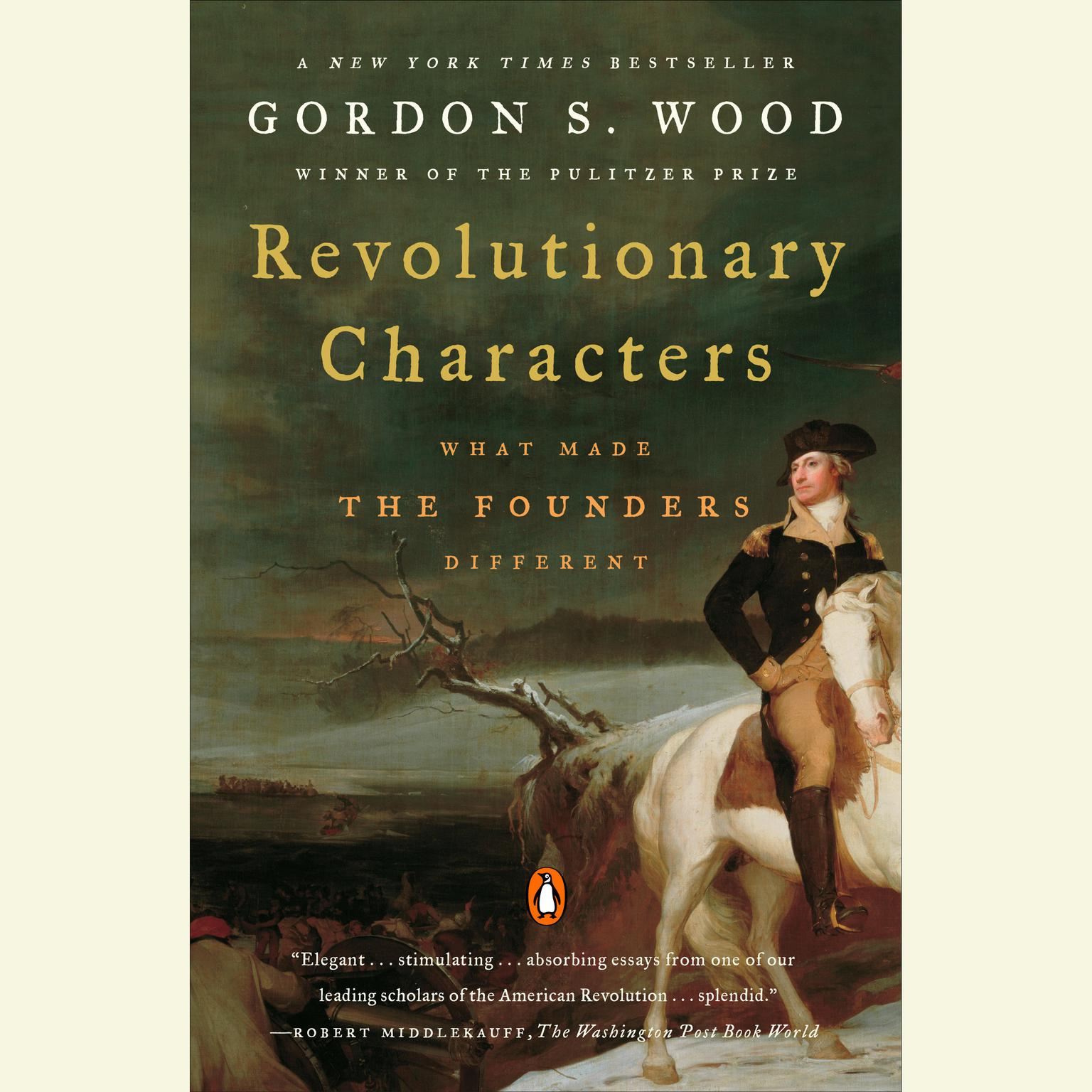 Printable Revolutionary Characters: What Made the Founders Different Audiobook Cover Art