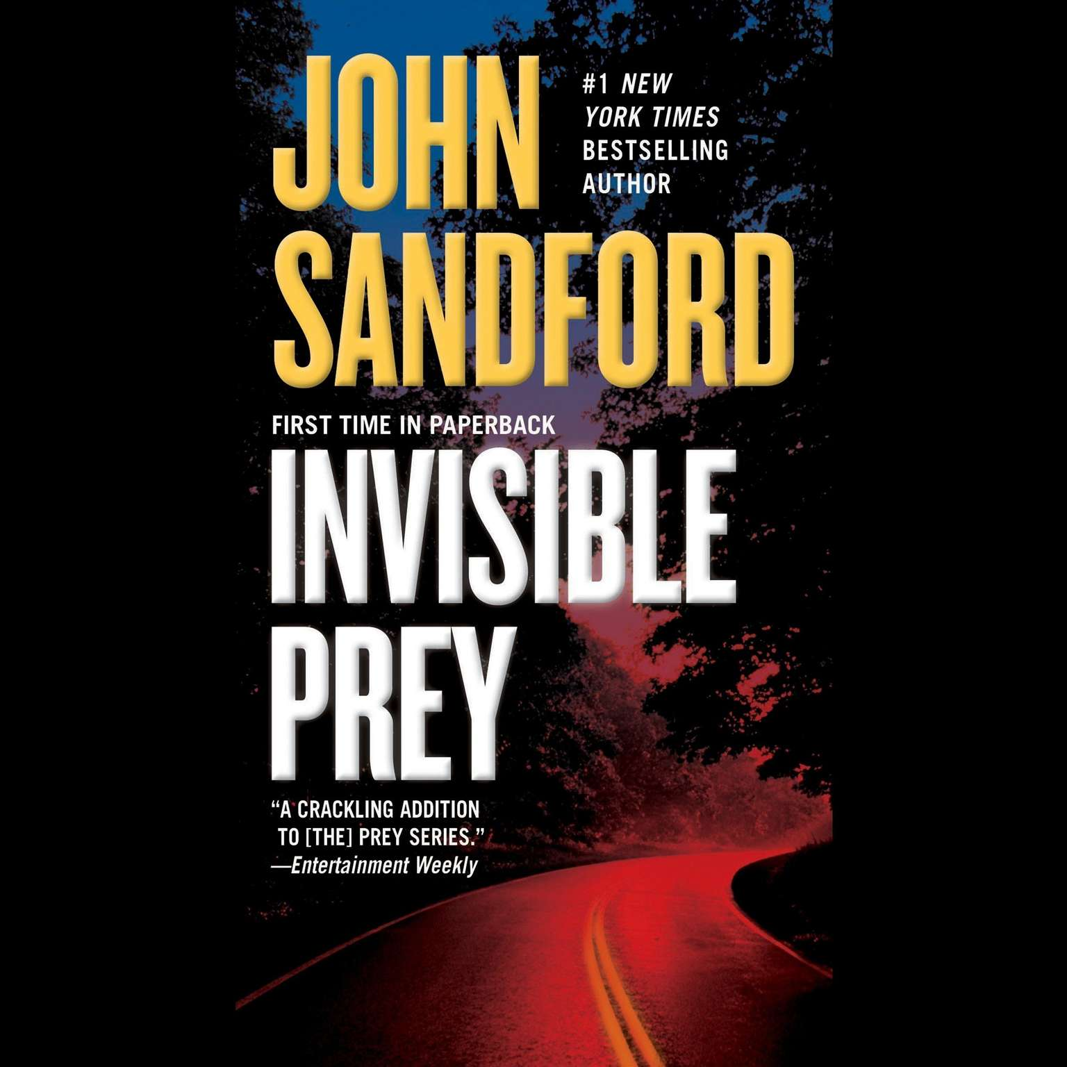 Printable Invisible Prey Audiobook Cover Art
