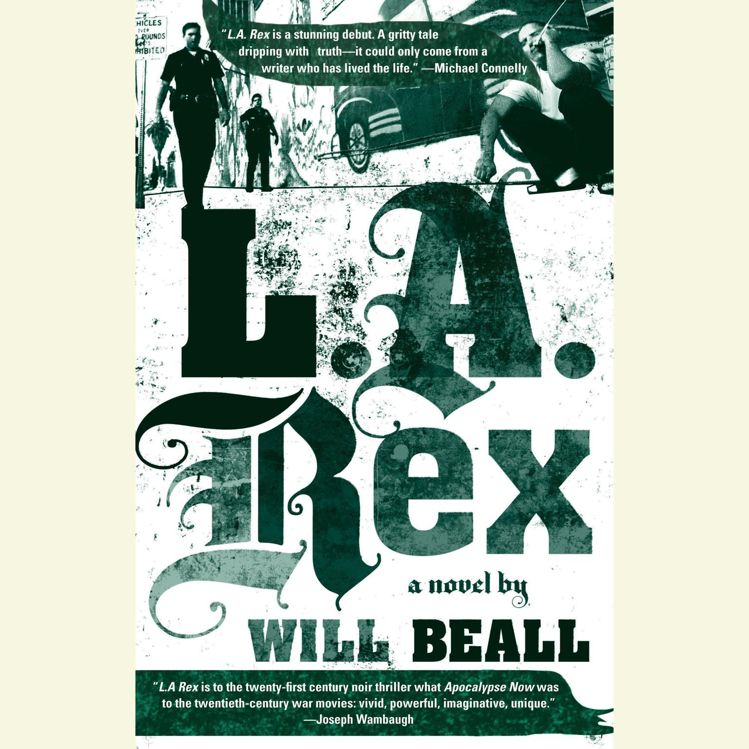Printable L.A. Rex Audiobook Cover Art