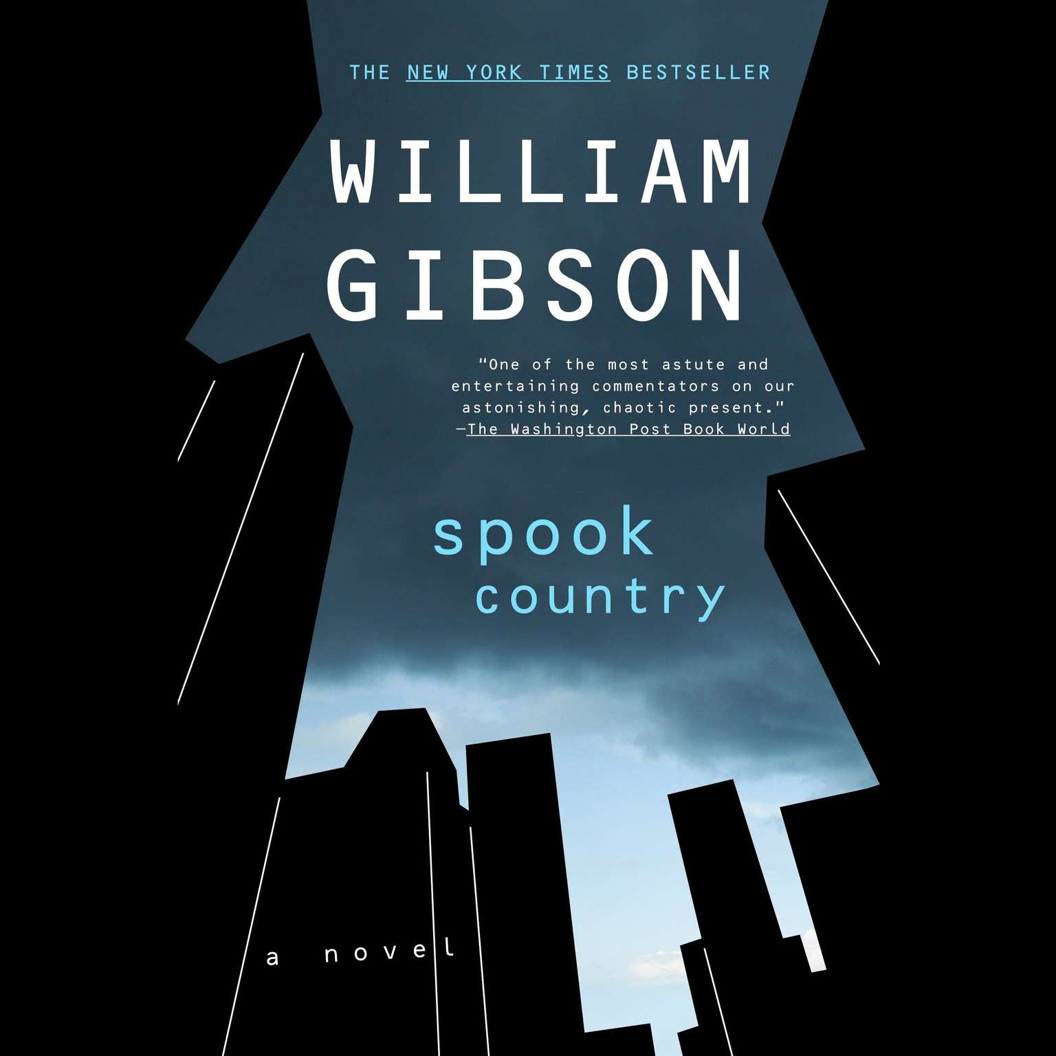 Printable Spook Country Audiobook Cover Art