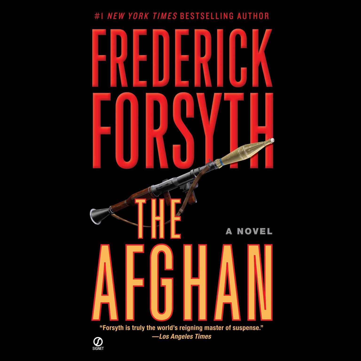 Printable The Afghan Audiobook Cover Art