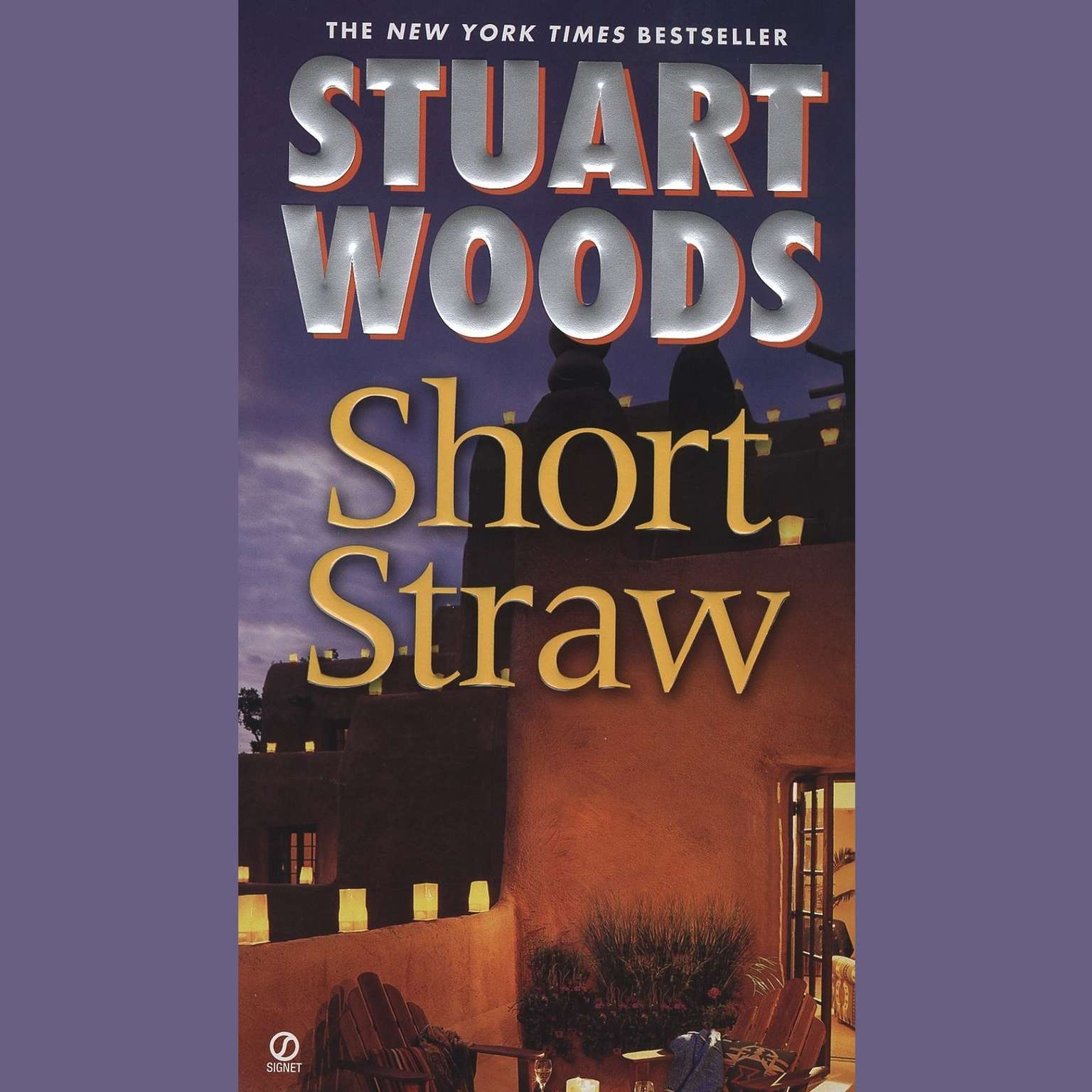 Printable Short Straw Audiobook Cover Art