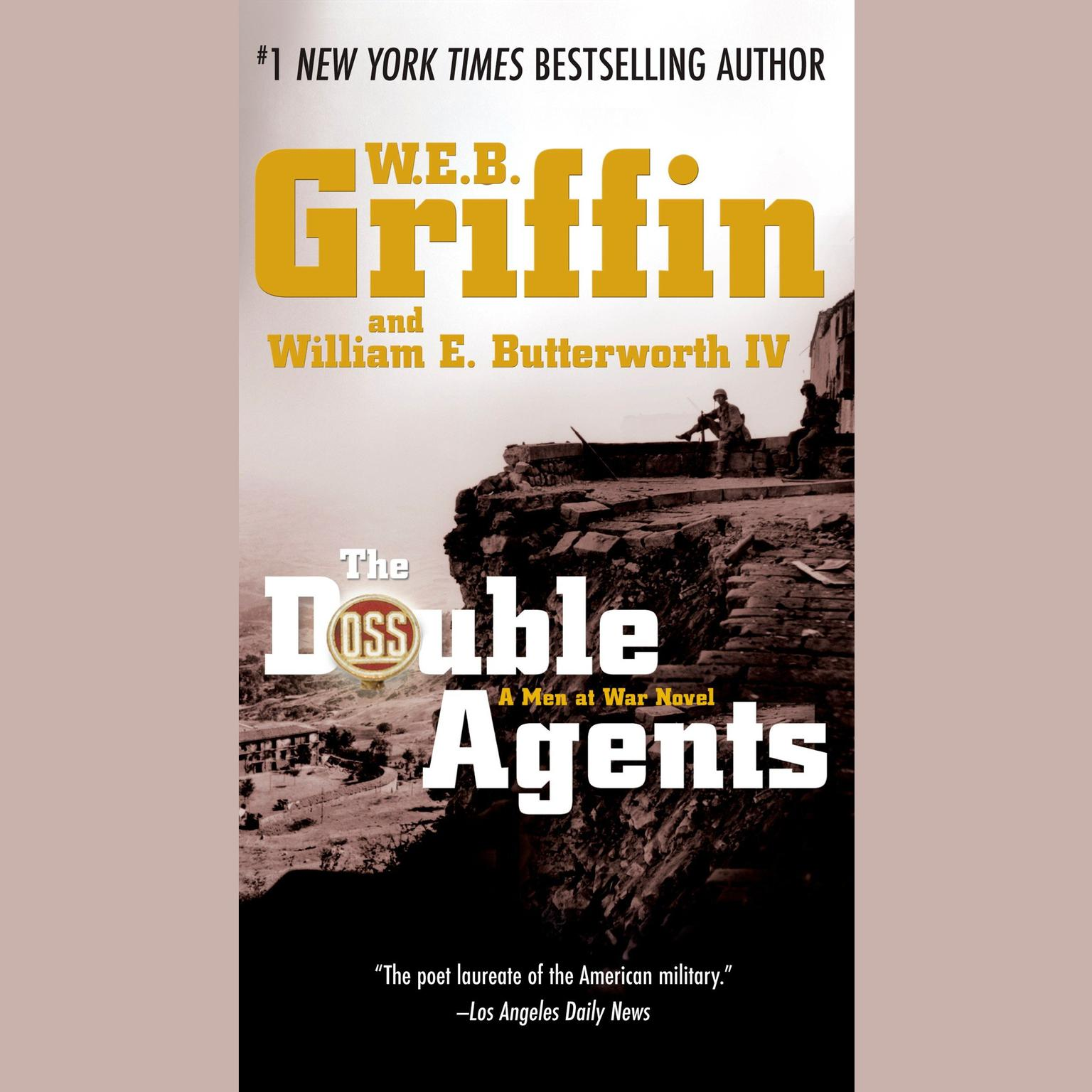 Printable The Double Agents Audiobook Cover Art
