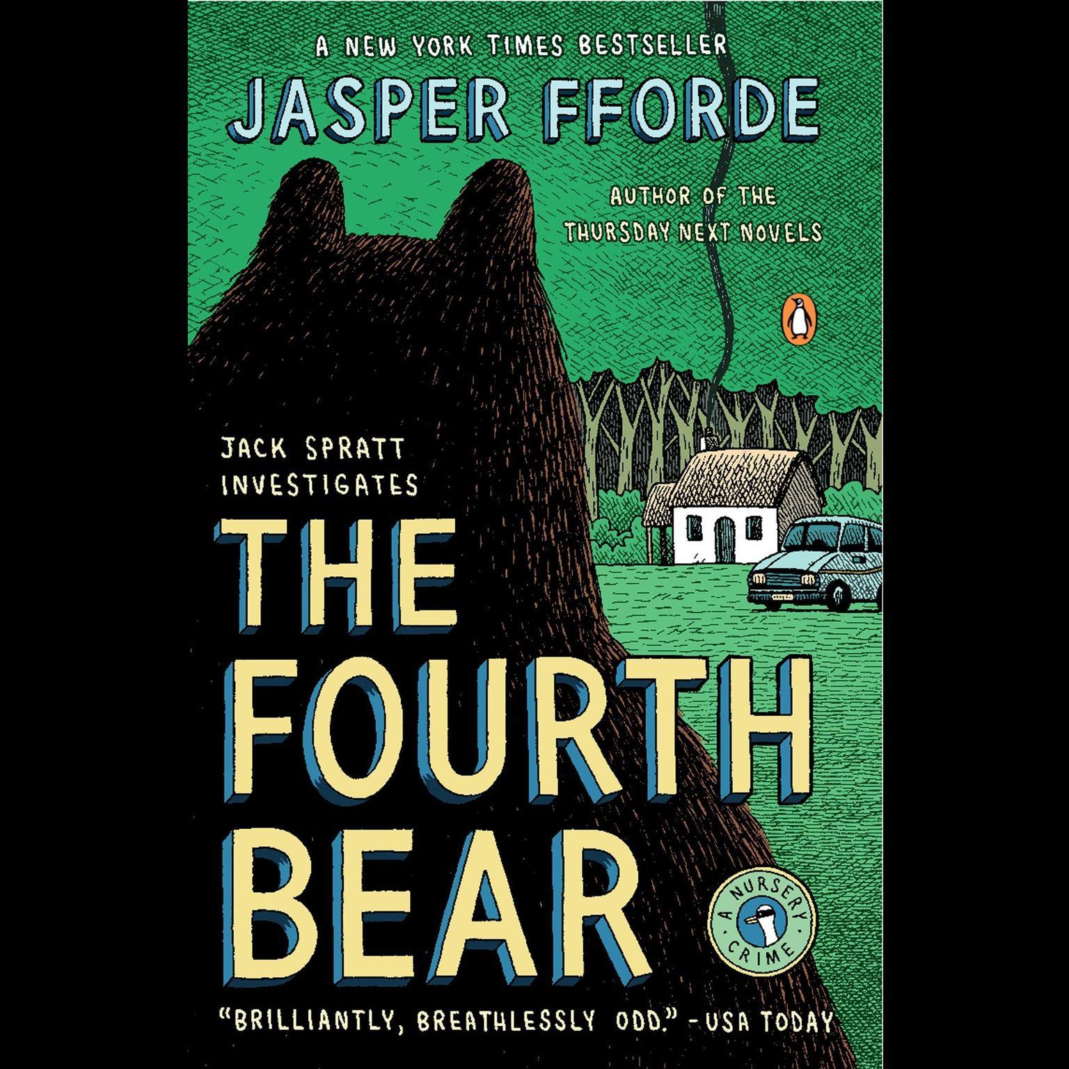 Printable The Fourth Bear: A Nursery Crime Audiobook Cover Art