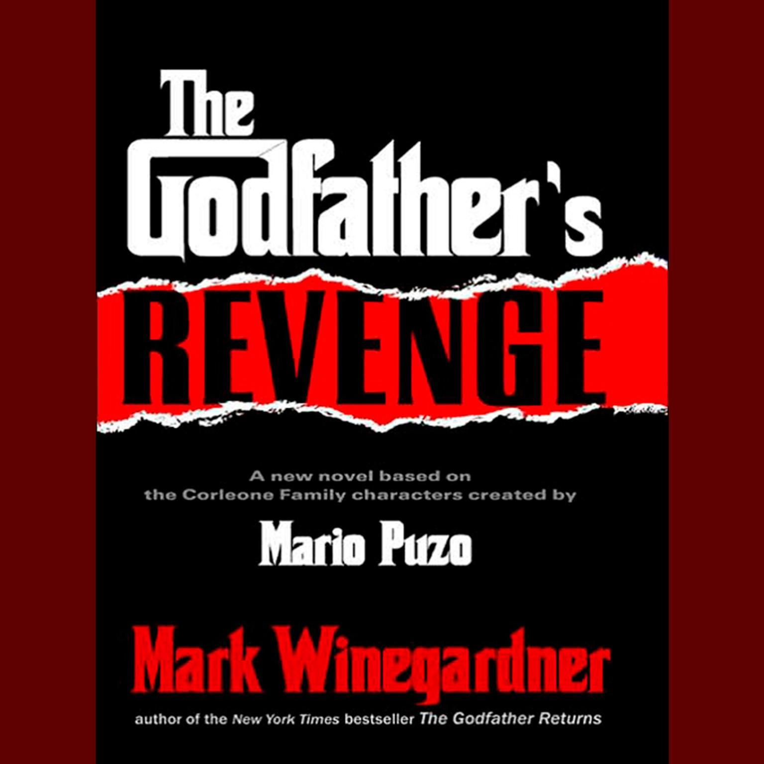 Printable The Godfather's Revenge Audiobook Cover Art