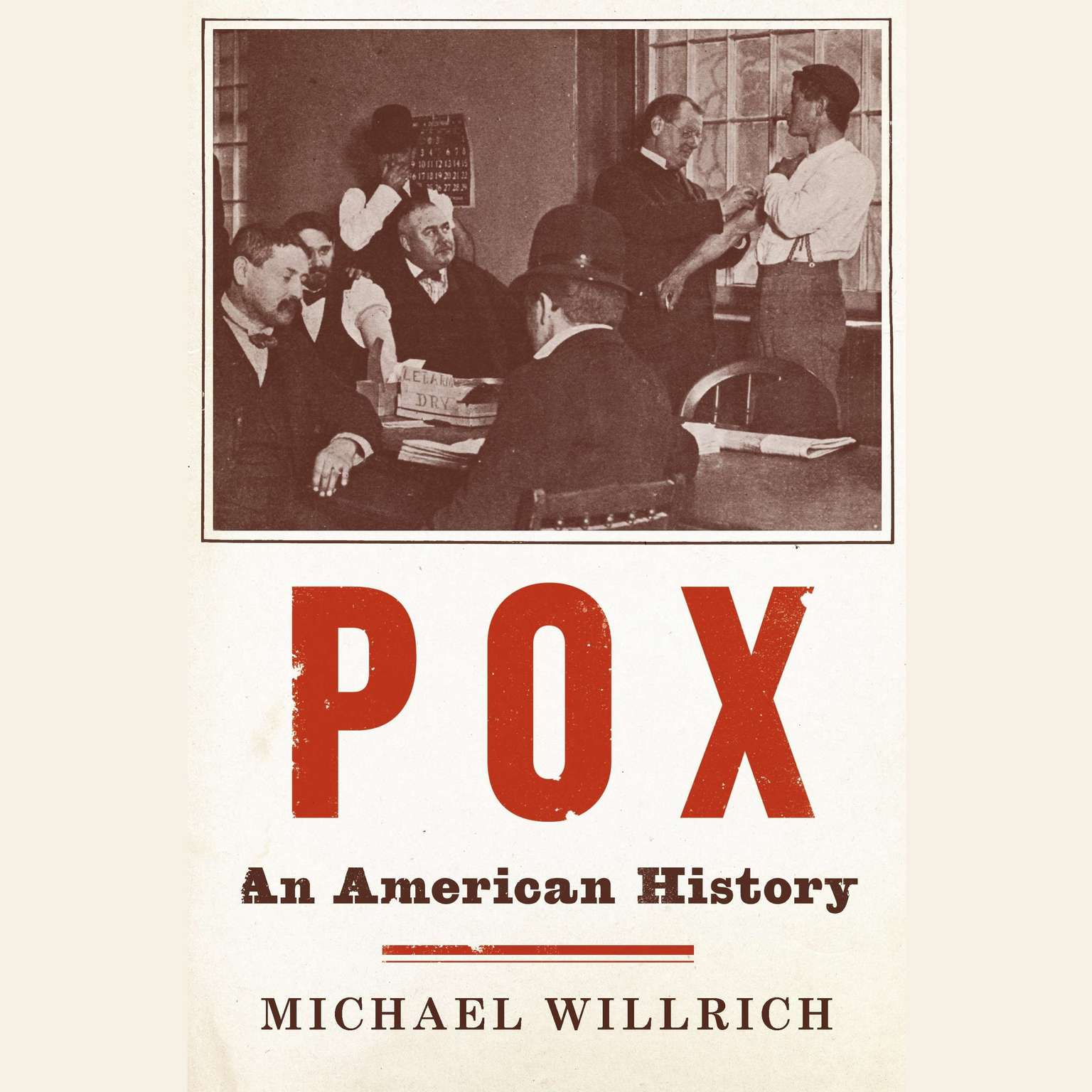Printable Pox: An American History Audiobook Cover Art