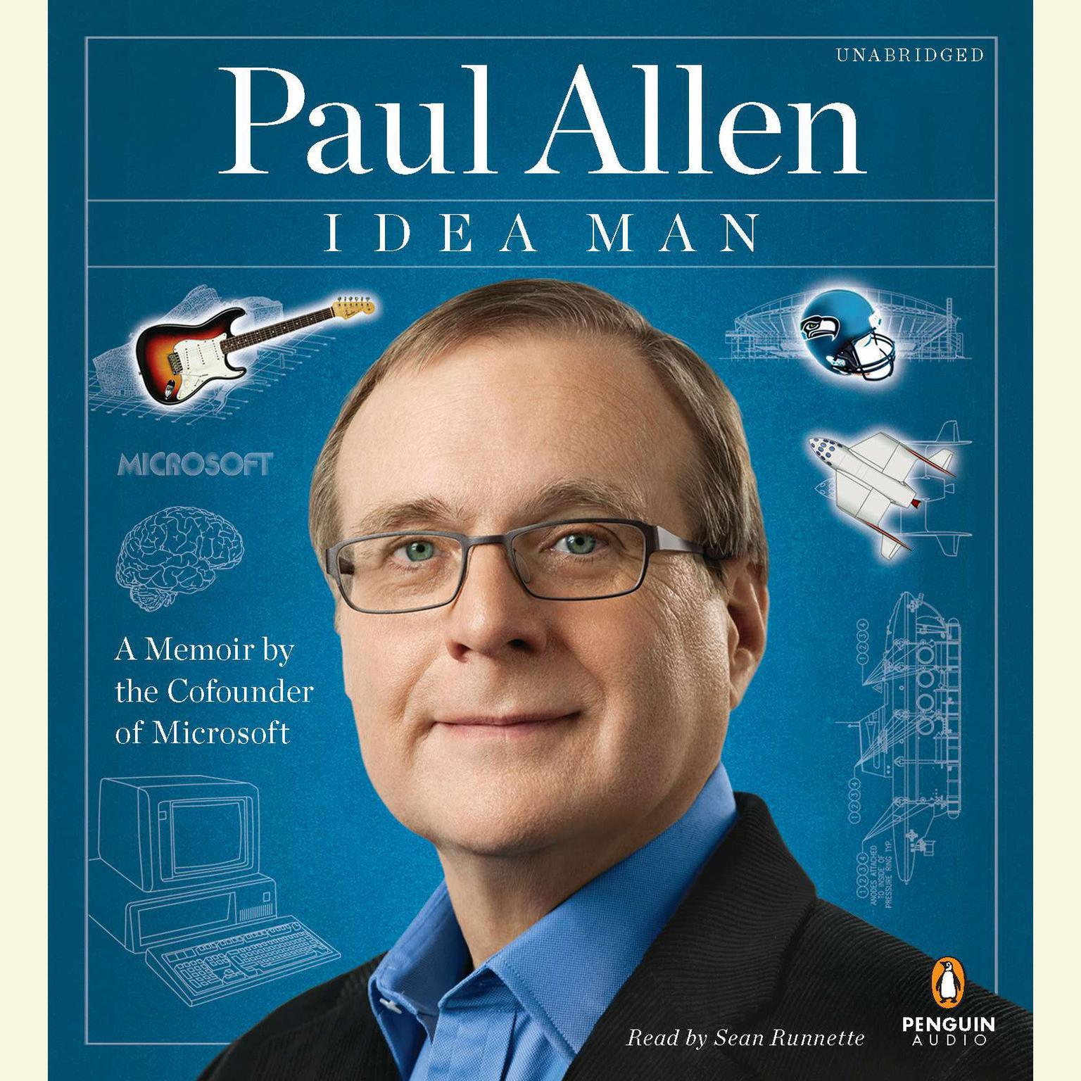 Printable Idea Man: A Memoir by the Cofounder of Microsoft Audiobook Cover Art