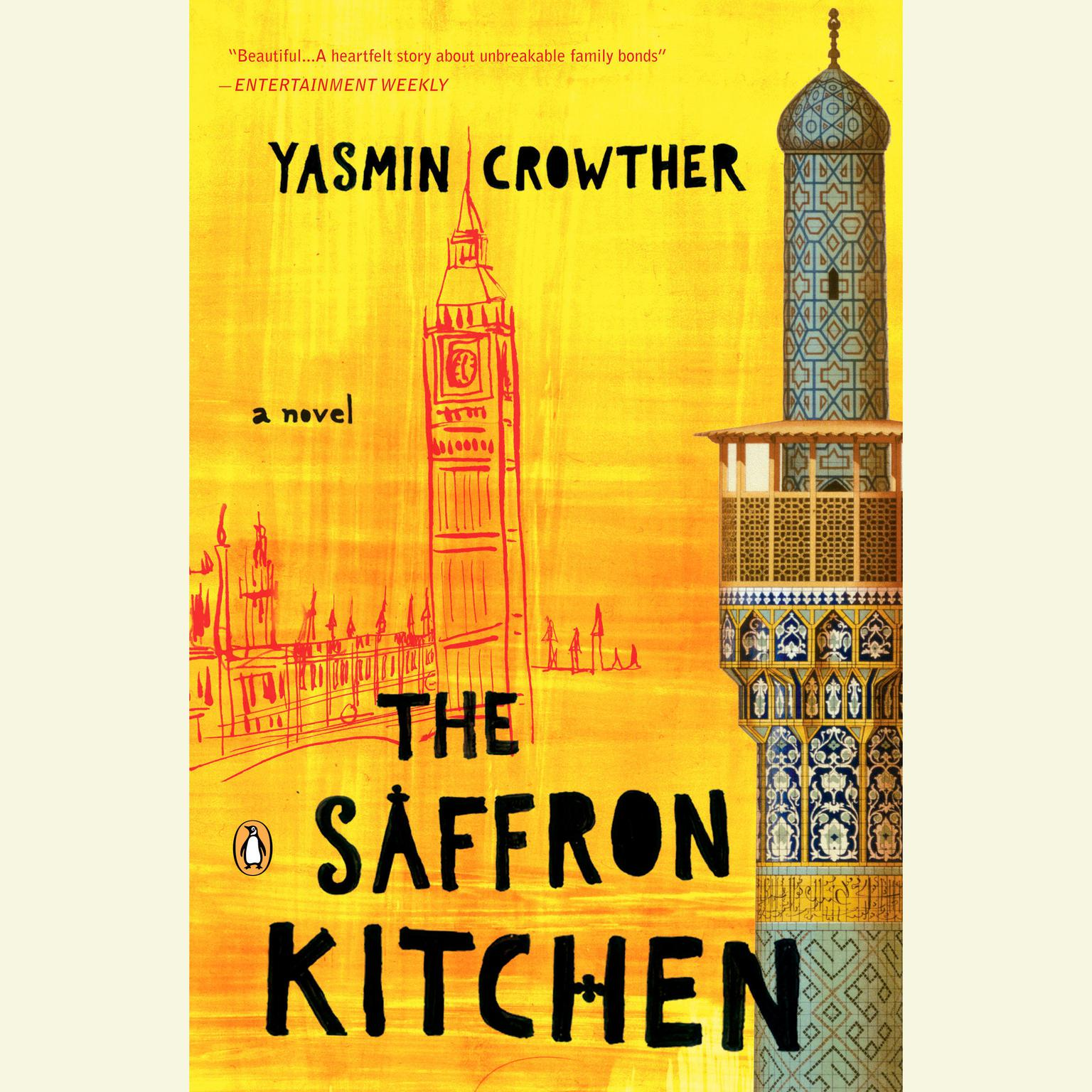 Printable The Saffron Kitchen Audiobook Cover Art