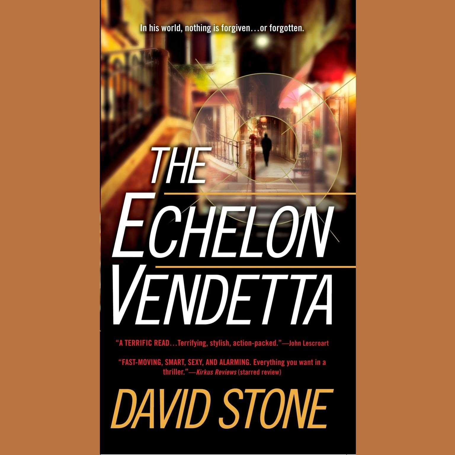 Printable The Echelon Vendetta Audiobook Cover Art