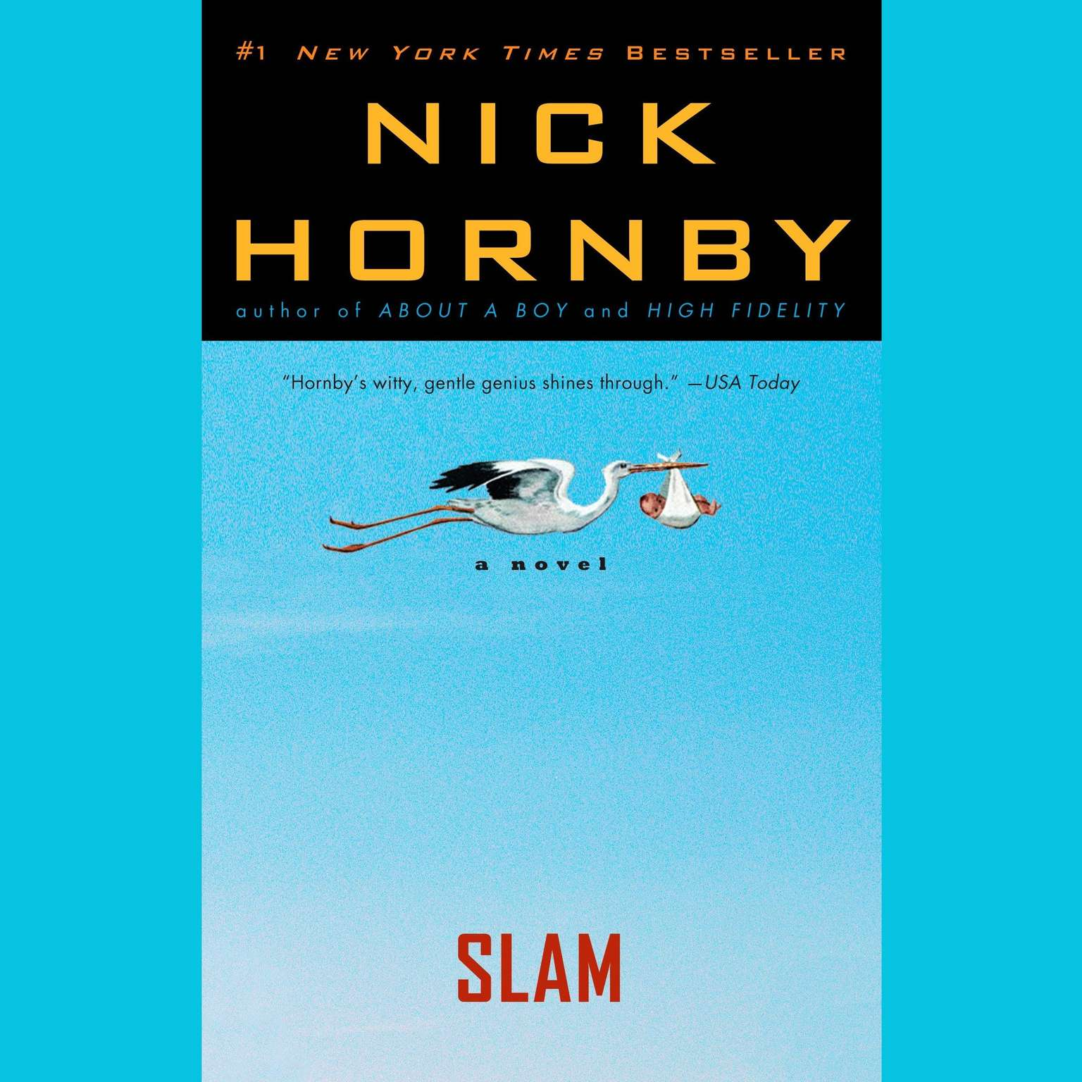 Slam Book Cover Page Quotes: Audiobook By Nick Hornby