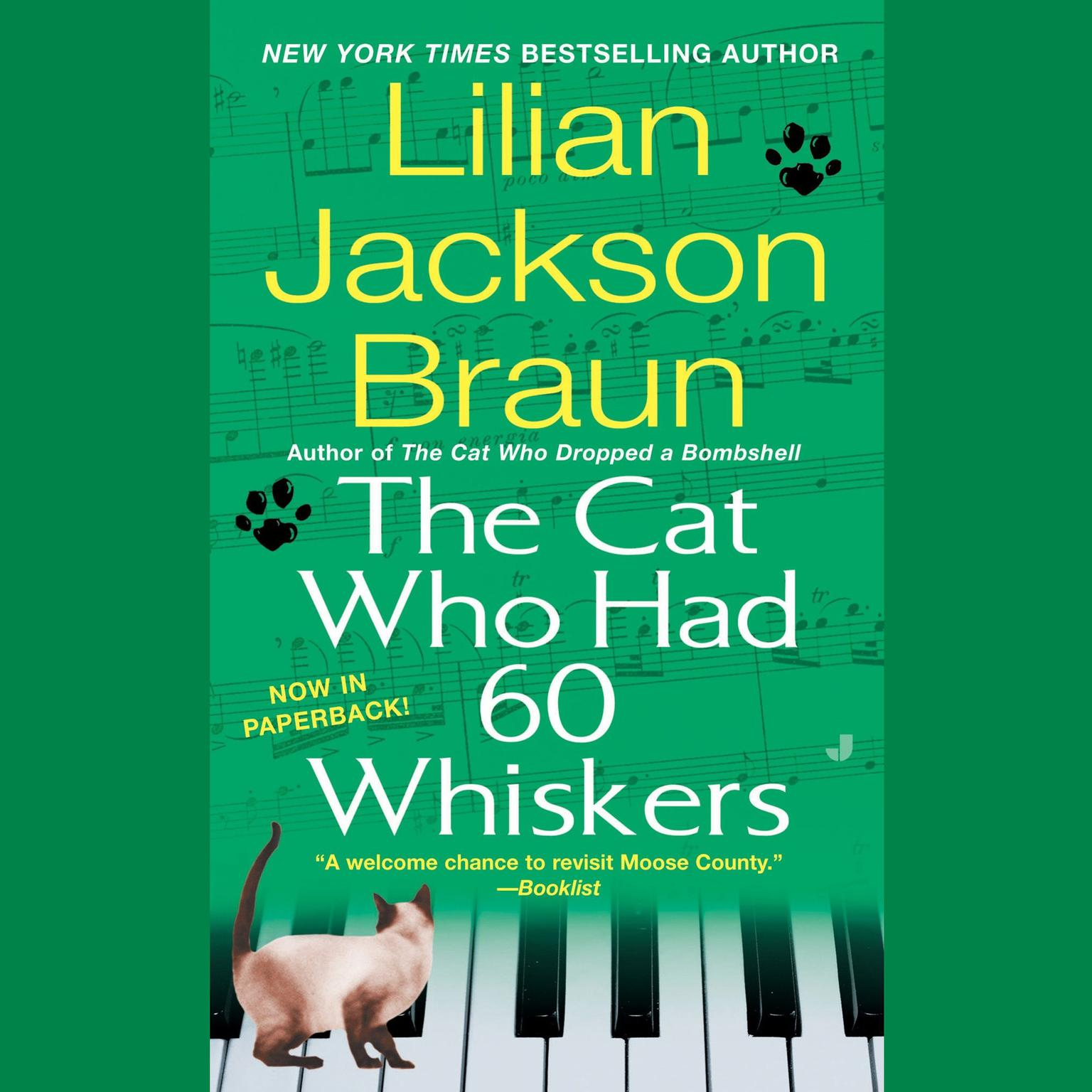 Printable The Cat Who Had 60 Whiskers Audiobook Cover Art