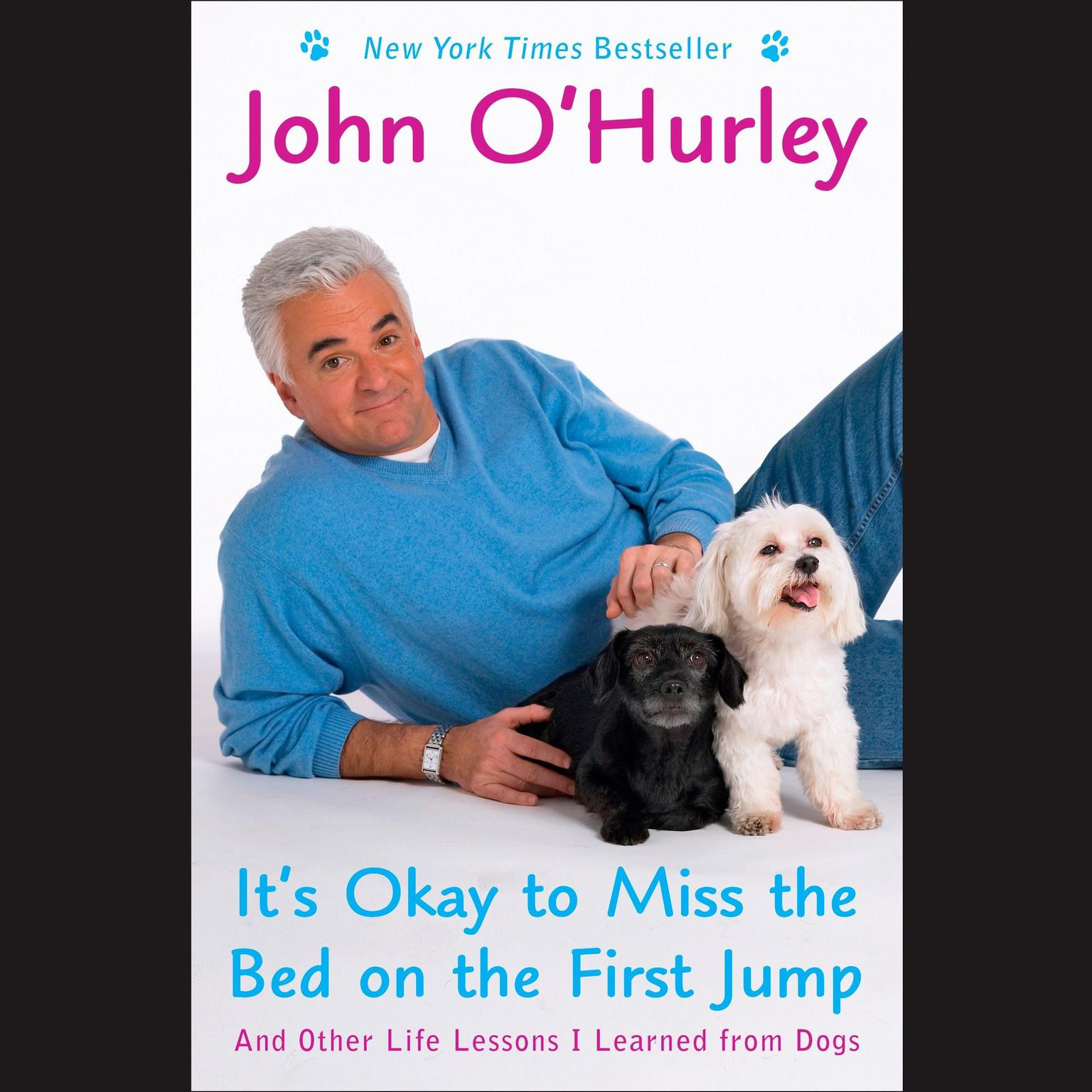 Printable It's Okay to Miss the Bed on the First Jump: And Other Life Lessons I Learned from Dogs Audiobook Cover Art