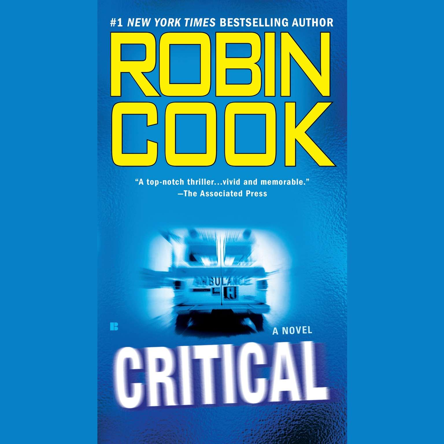 Printable Critical Audiobook Cover Art