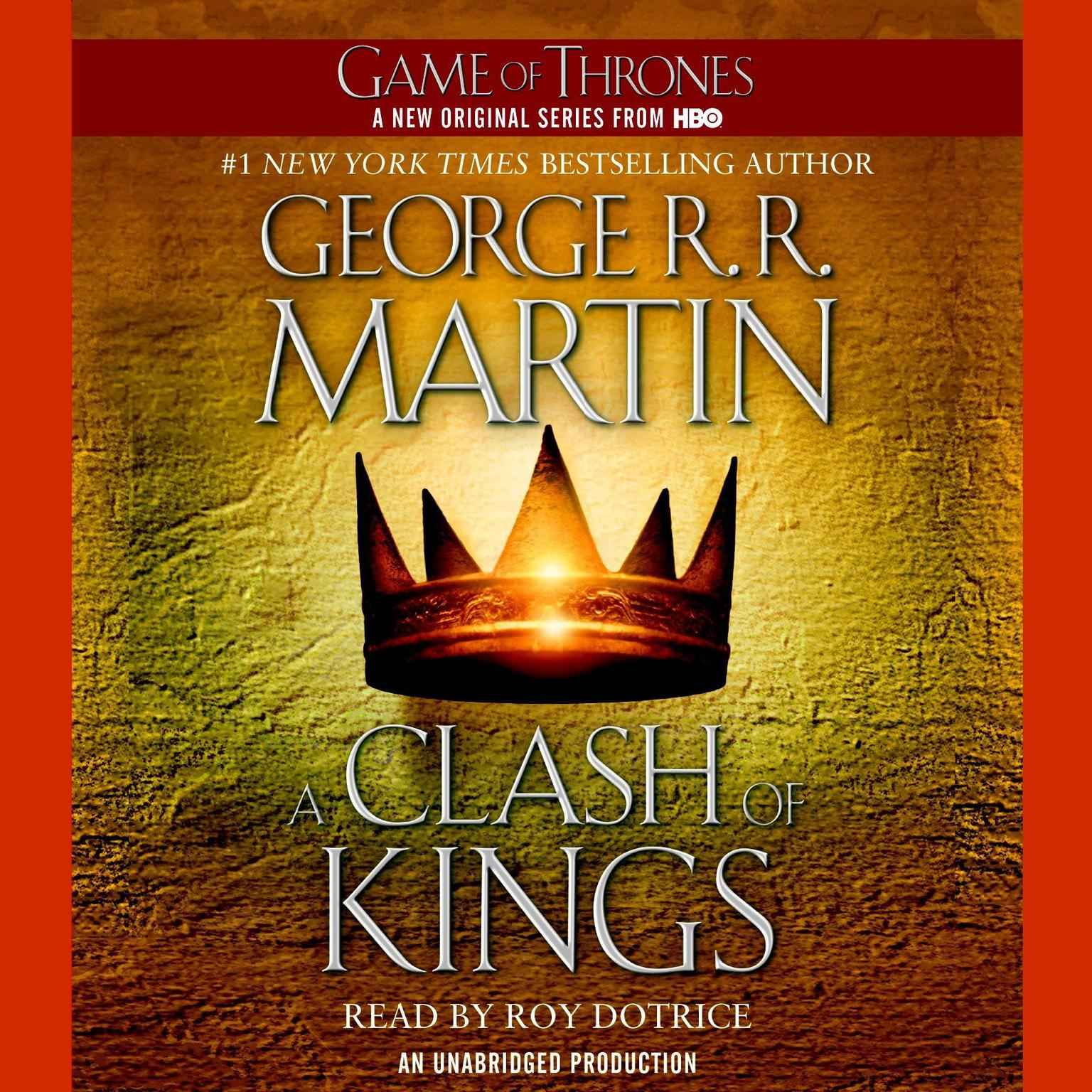 Printable A Clash of Kings: A Song of Ice and Fire: Book Two Audiobook Cover Art
