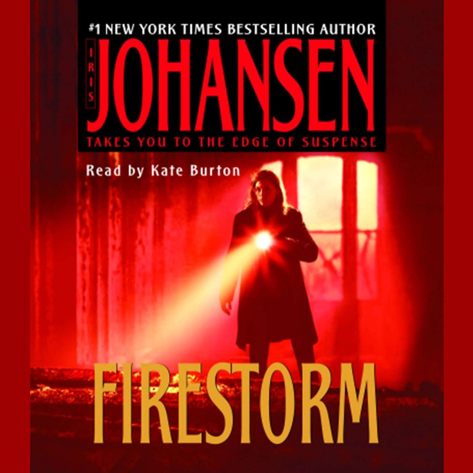 Printable Firestorm Audiobook Cover Art