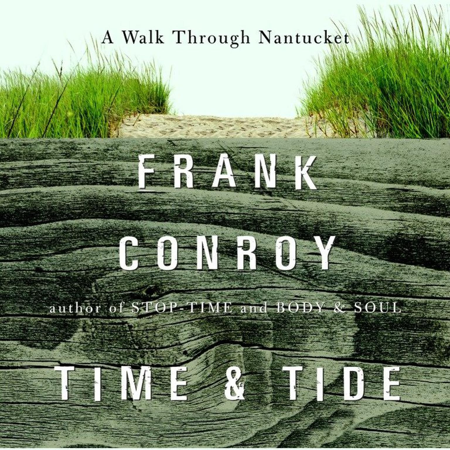 Printable Time and Tide: A Walk Through Nantucket Audiobook Cover Art