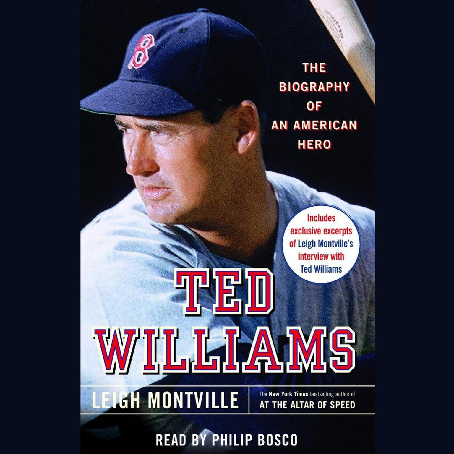 Printable Ted Williams: The Biography of an American Hero Audiobook Cover Art