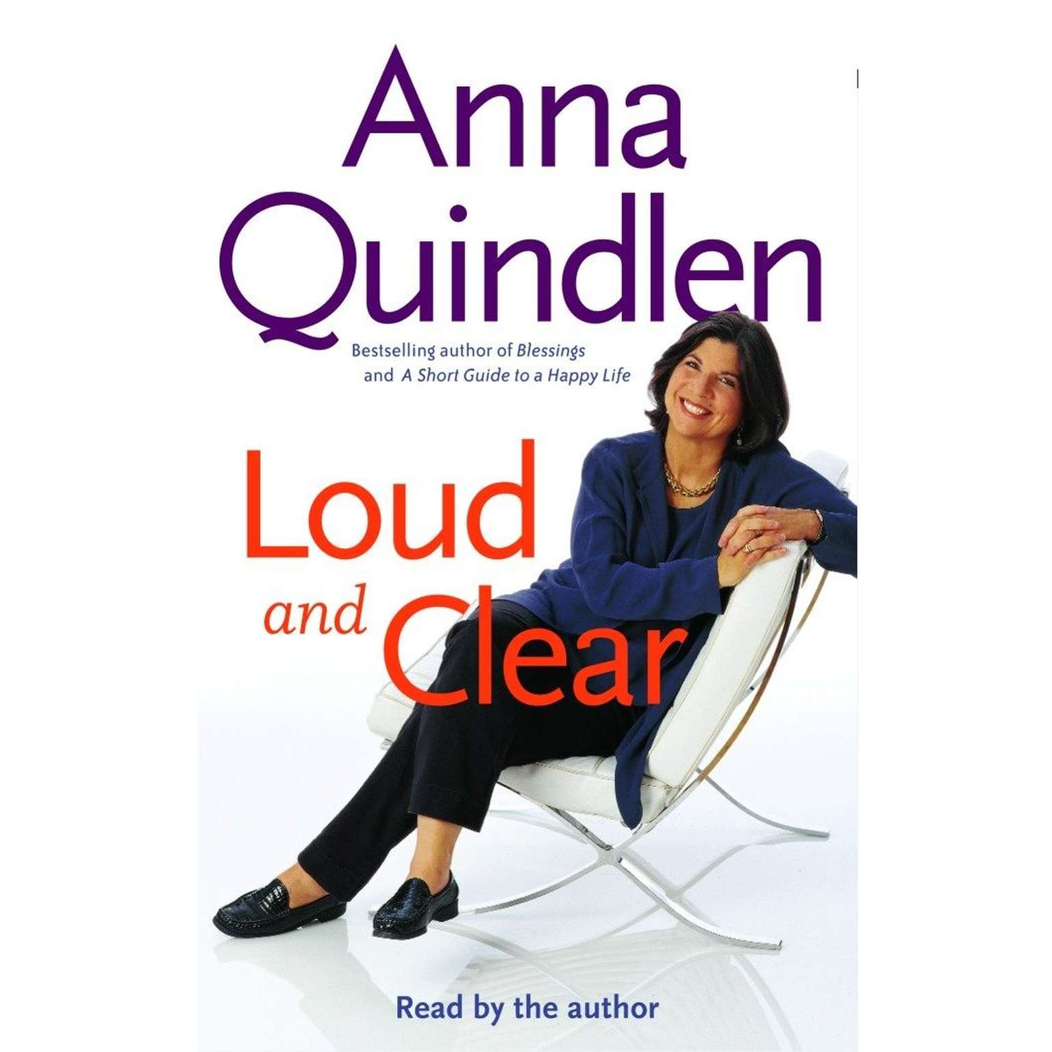 Printable Loud and Clear Audiobook Cover Art