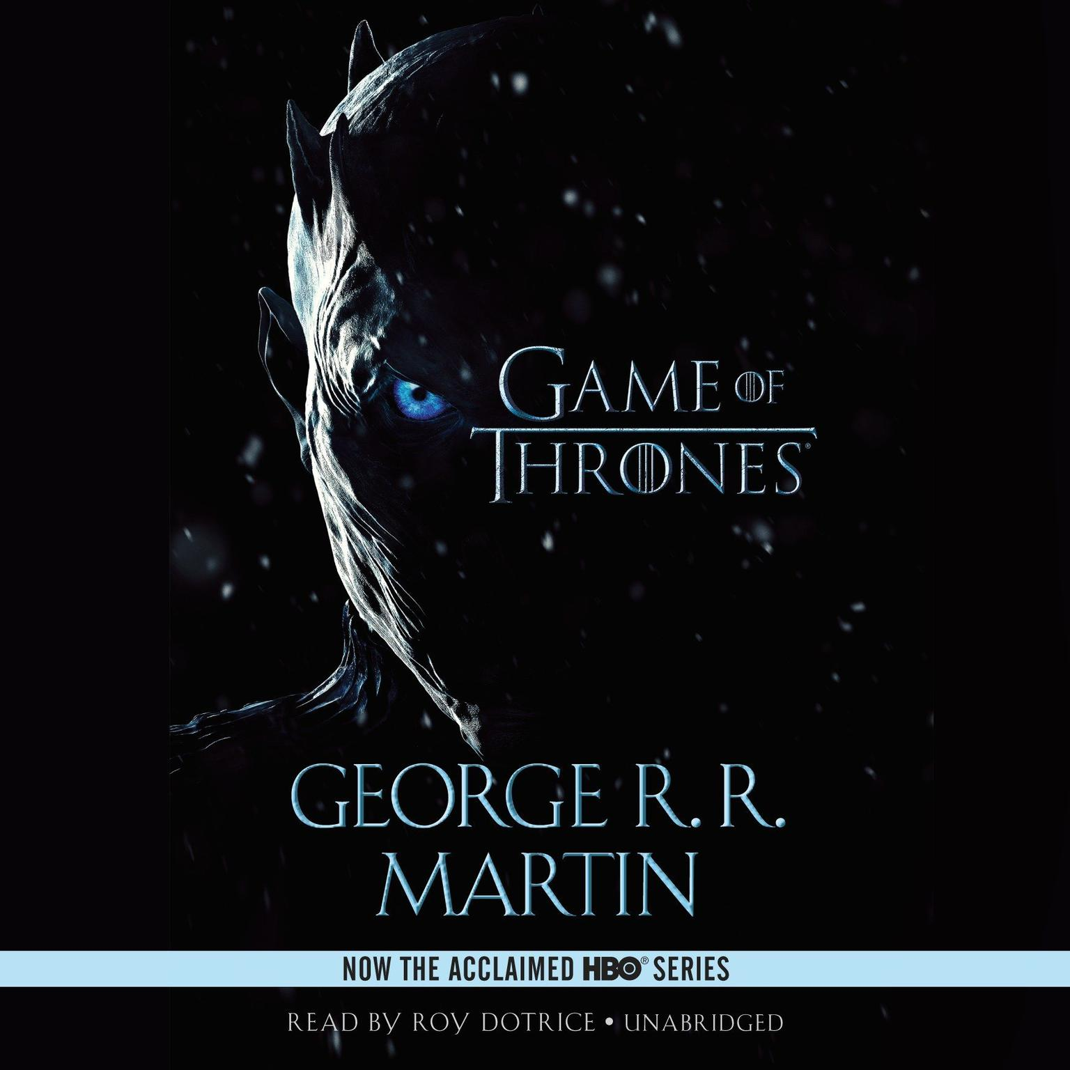Printable A Game of Thrones Audiobook Cover Art