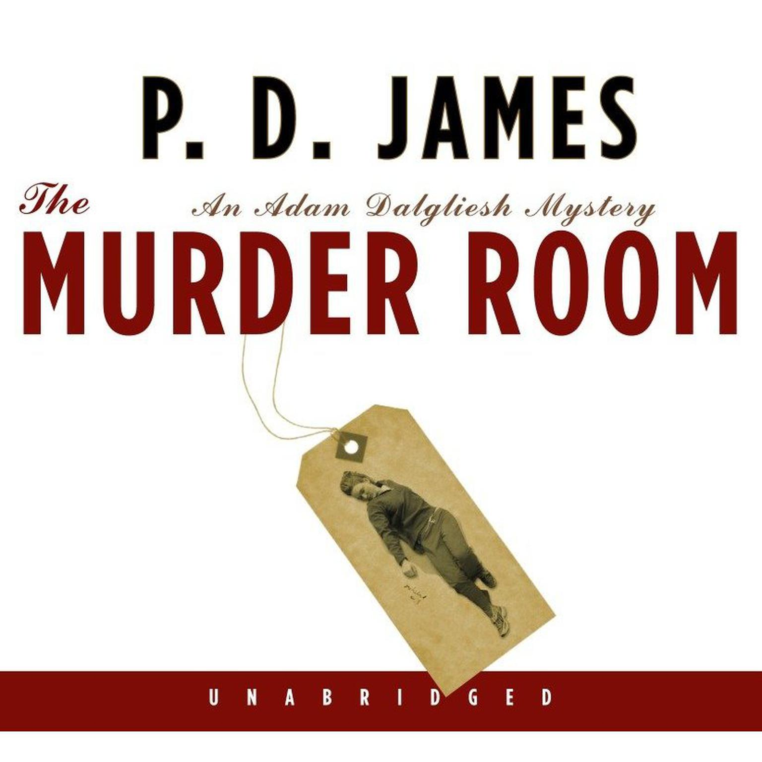 Printable The Murder Room Audiobook Cover Art