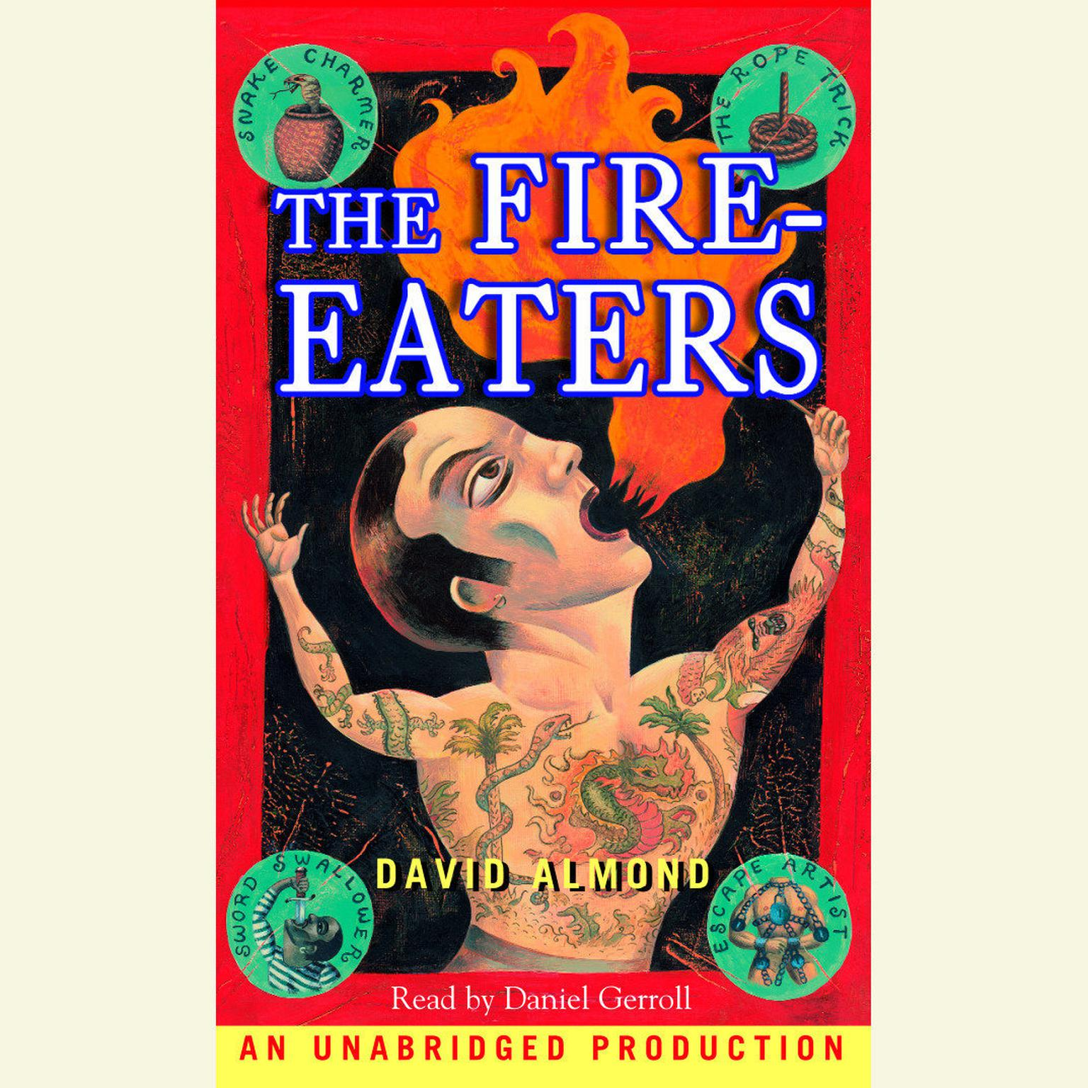 Printable The Fire-Eaters Audiobook Cover Art