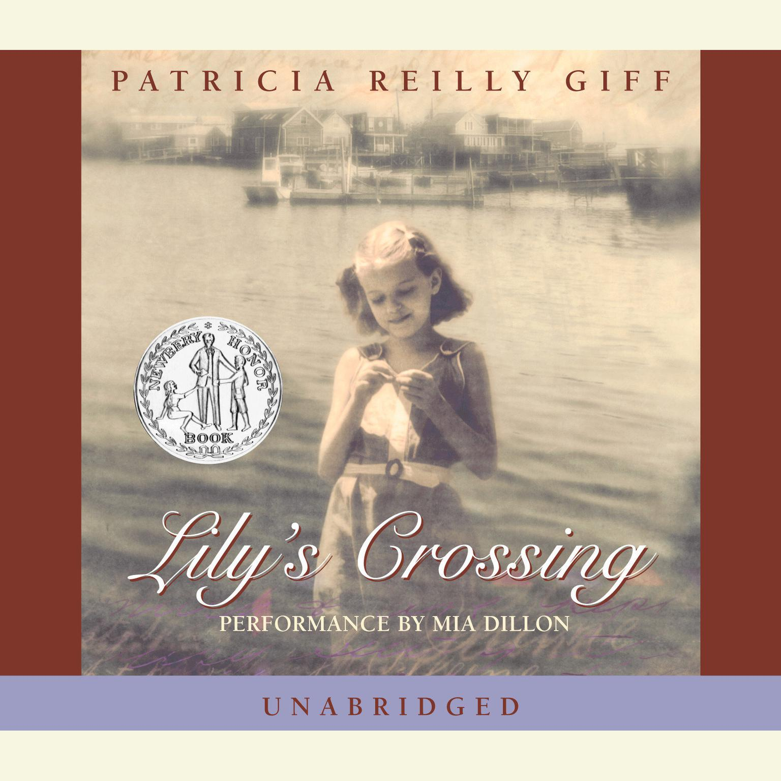 Printable Lily's Crossing Audiobook Cover Art