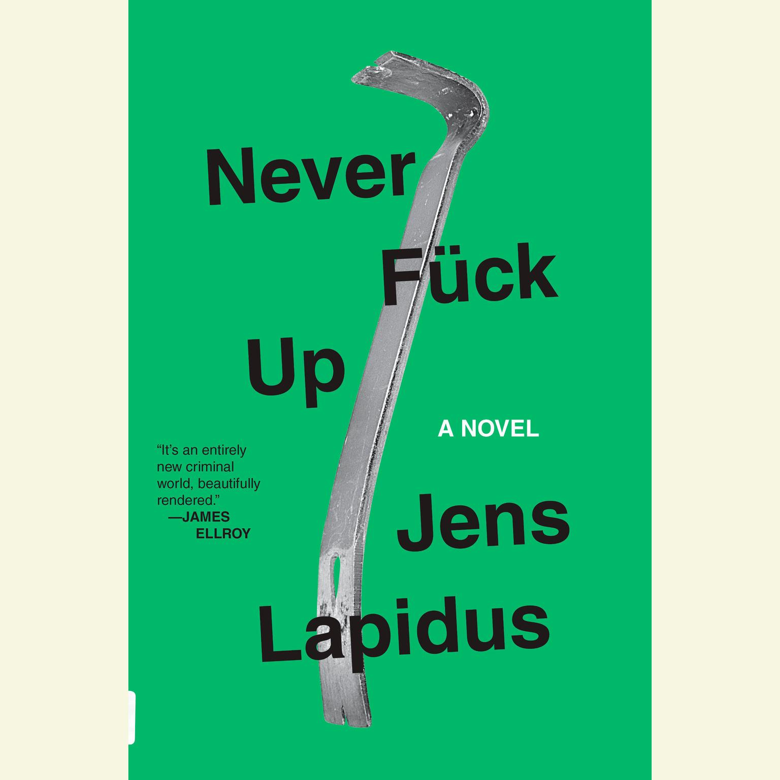 Printable Never Fuck Up: A Novel Audiobook Cover Art
