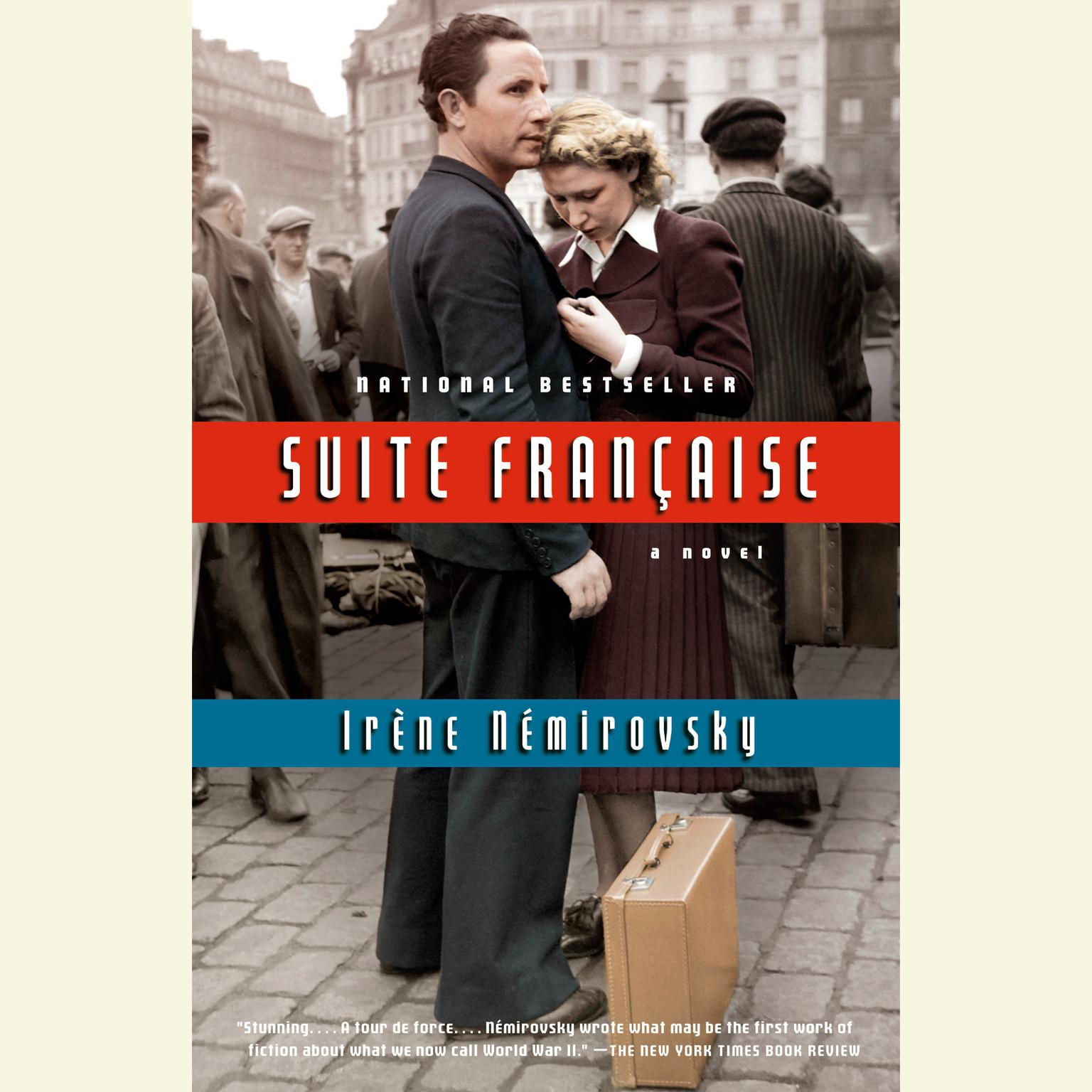 Printable Suite Francaise Audiobook Cover Art