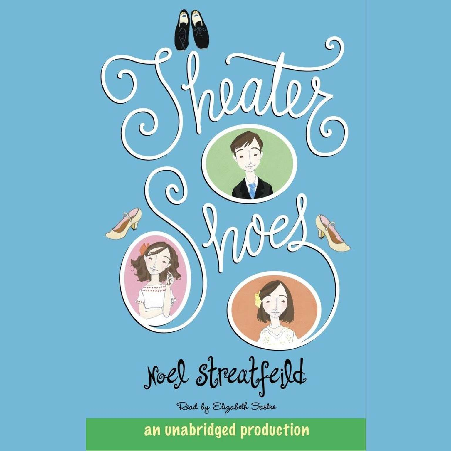 Printable Theater Shoes Audiobook Cover Art