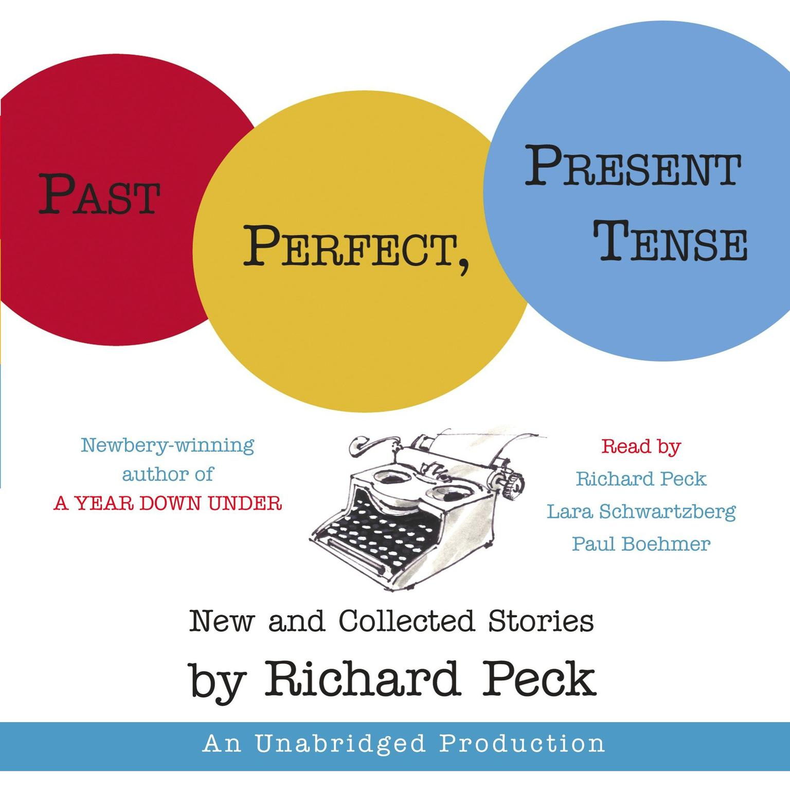 Printable Past Perfect, Present Tense Audiobook Cover Art